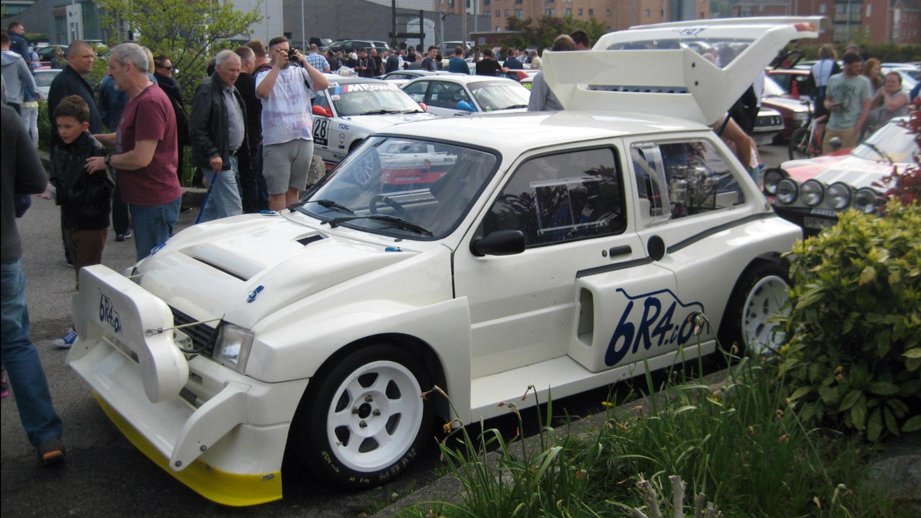 You can buy Colin McRae\'s mad Metro 6R4 | Top Gear
