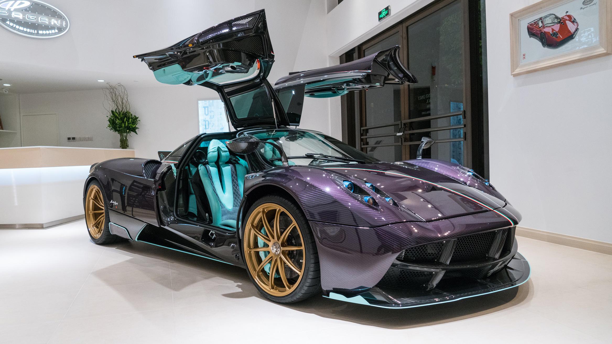 Meet the one-of-three Pagani Huayra Dinastia | Top Gear
