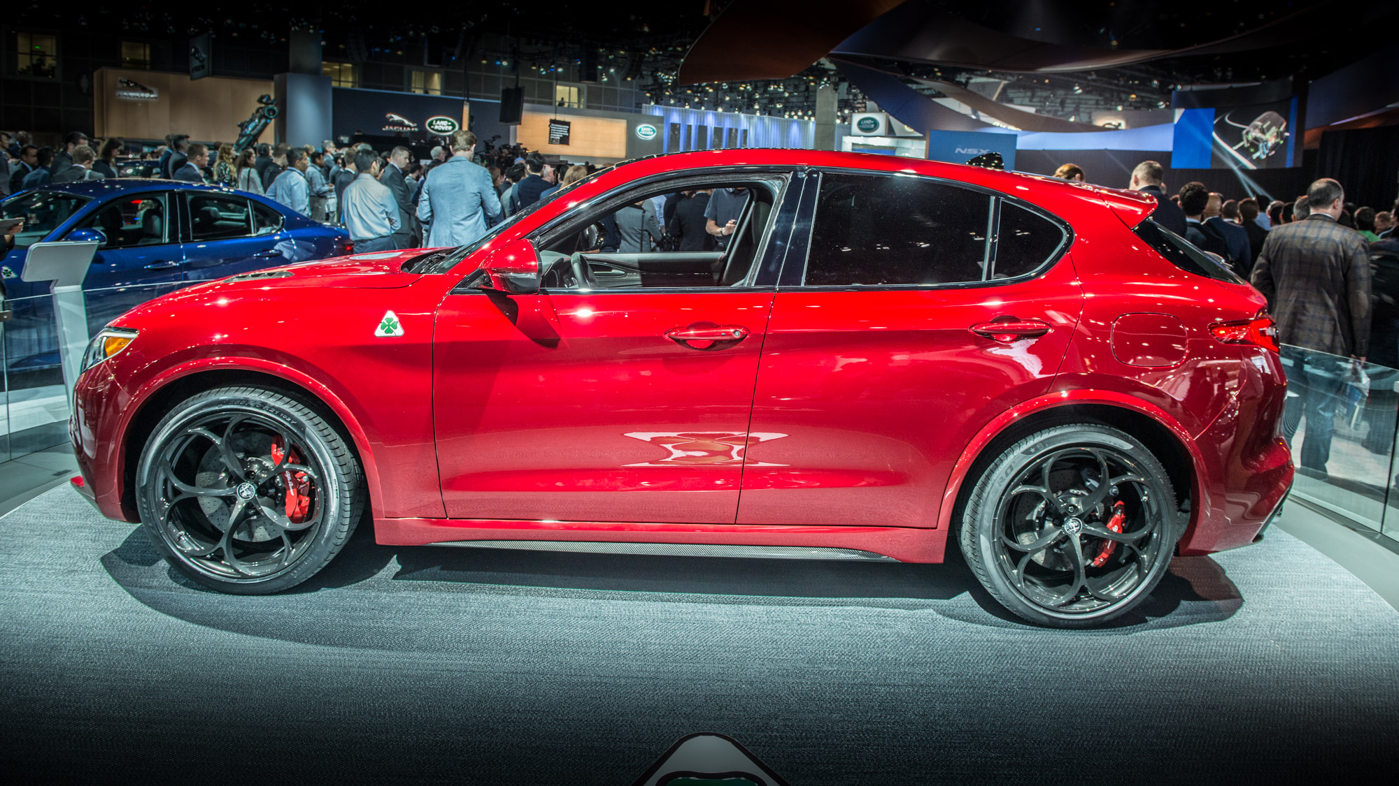 Meet Alfa Romeo's First SUV, The Stelvio
