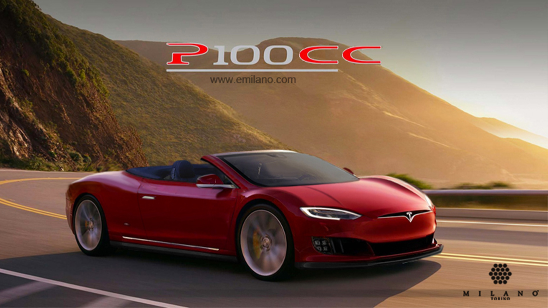 Meet The Unofficial Tesla P100 Coupe And Cabrio Top Gear