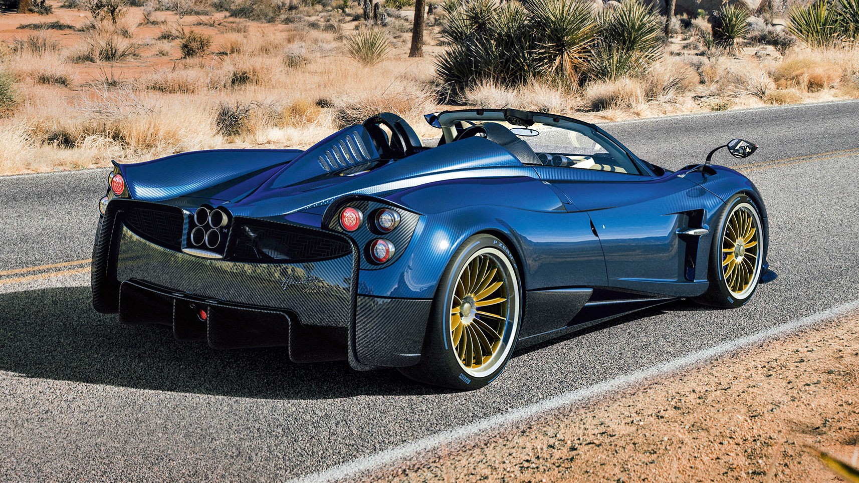 All hail the new Pagani Huayra Roadster | Top Gear