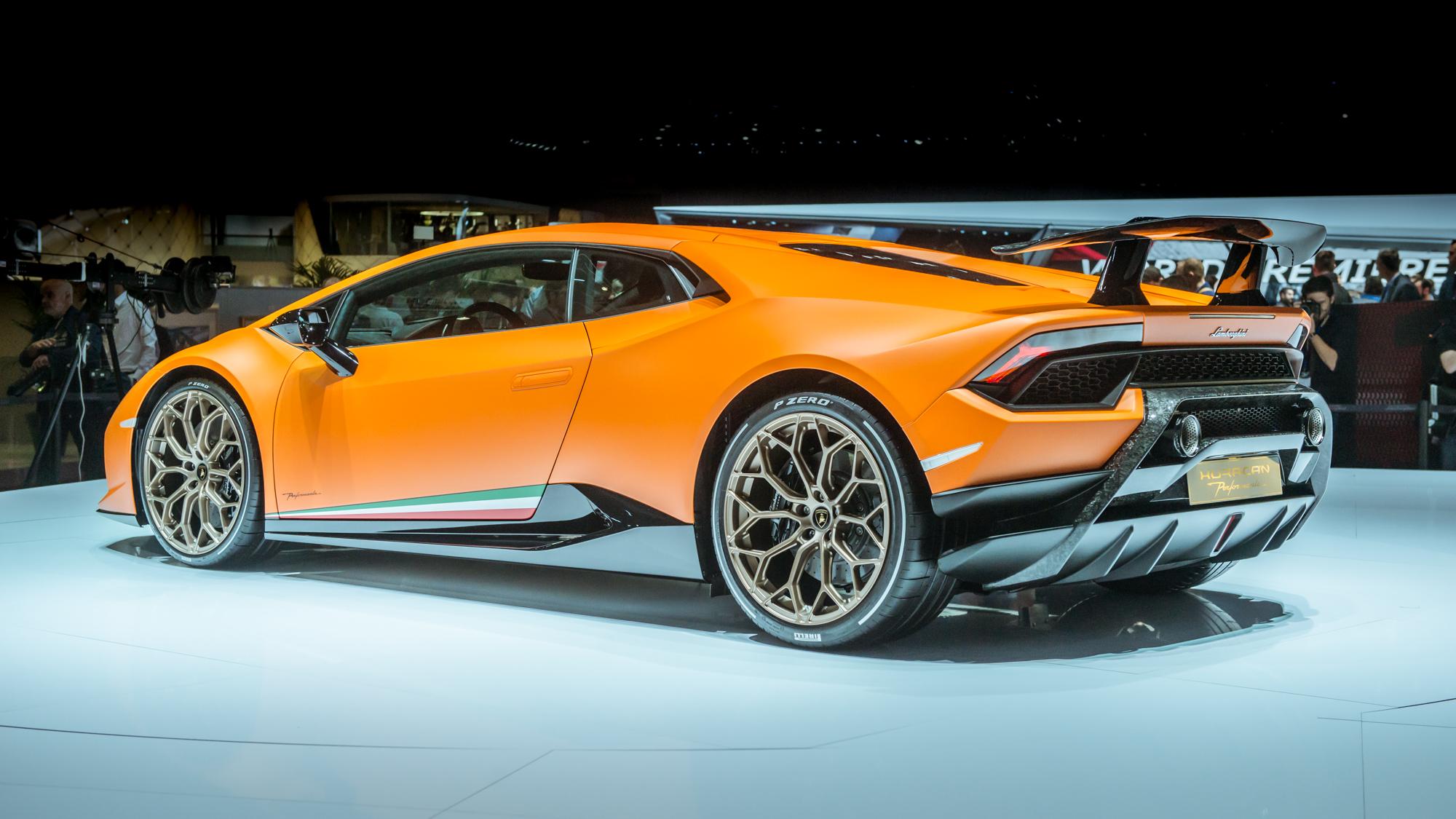 The Lamborghini Hurac 225 N Performante Is Here Top Gear