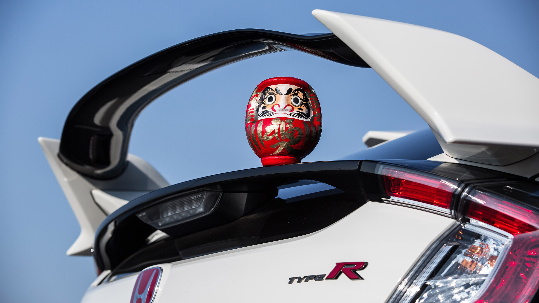 Honda Civic Type R Nurburgring rear spoilet