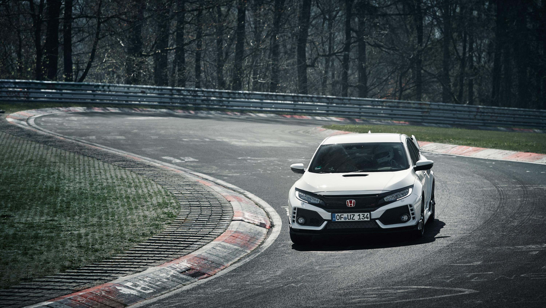 Honda Civic Type R Nurburgring car