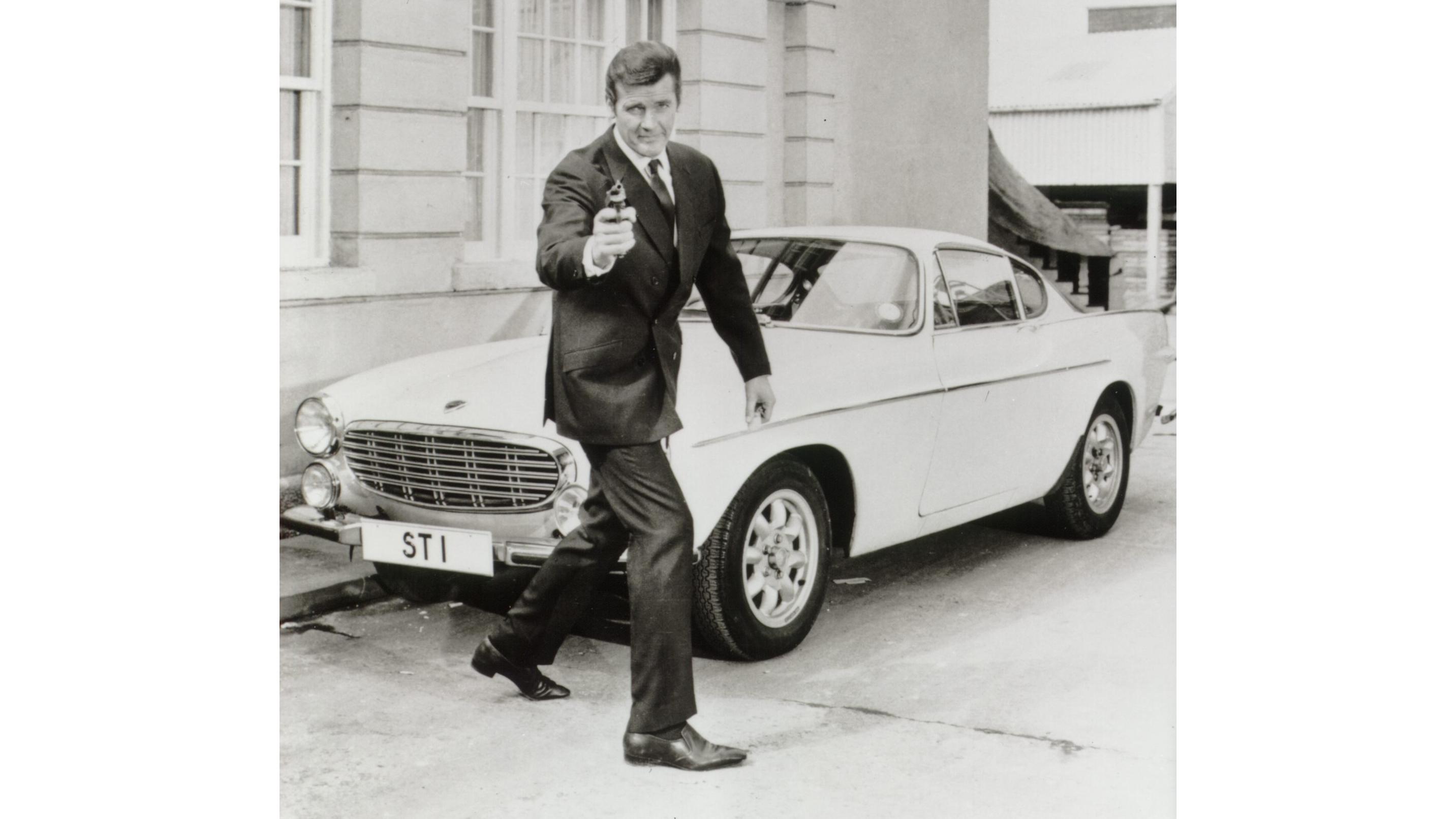 Sir Roger Moore as James Bond