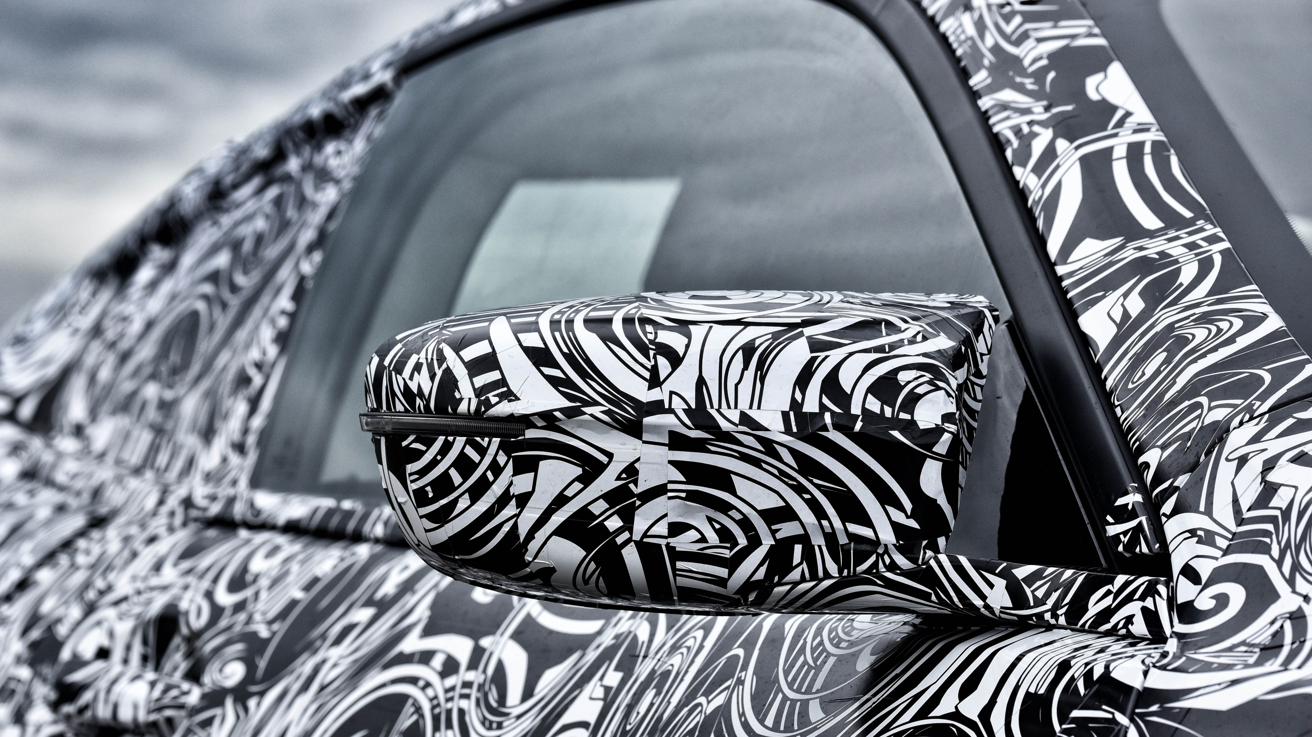 BMW M8 concept wing mirrors