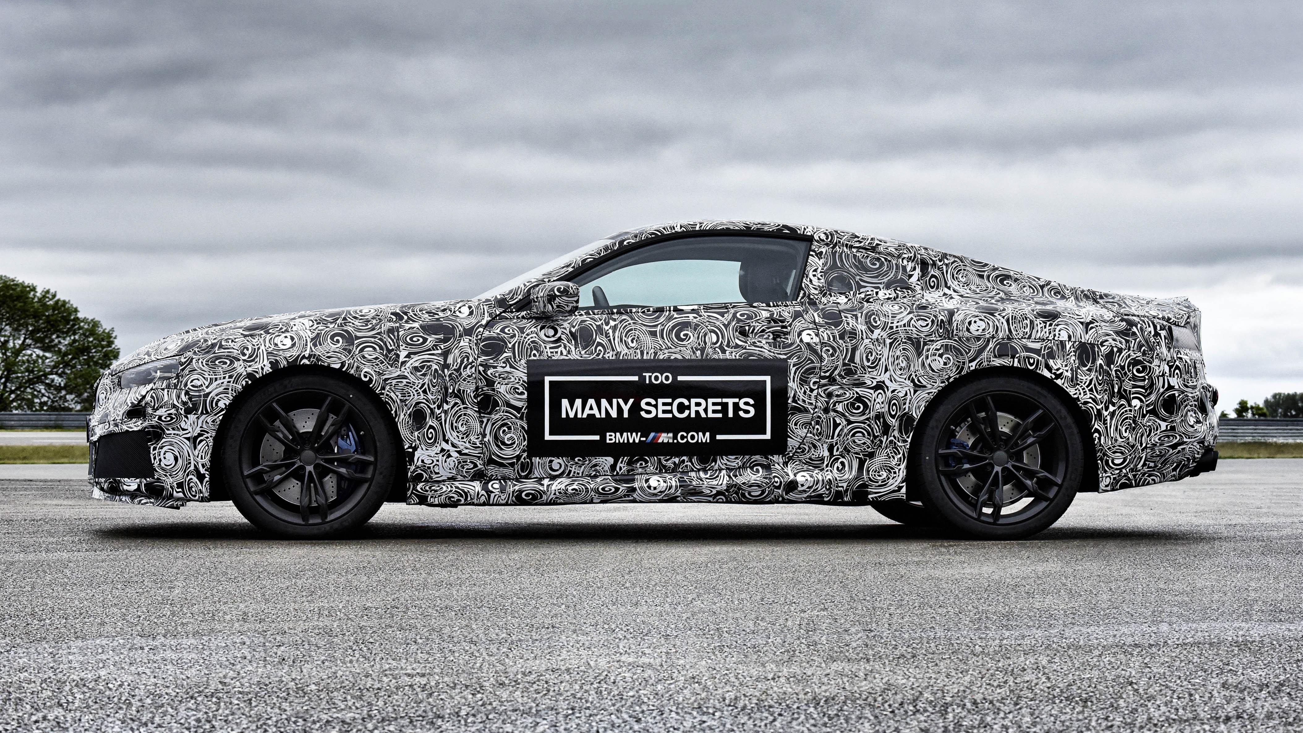 BMW M8 concept side