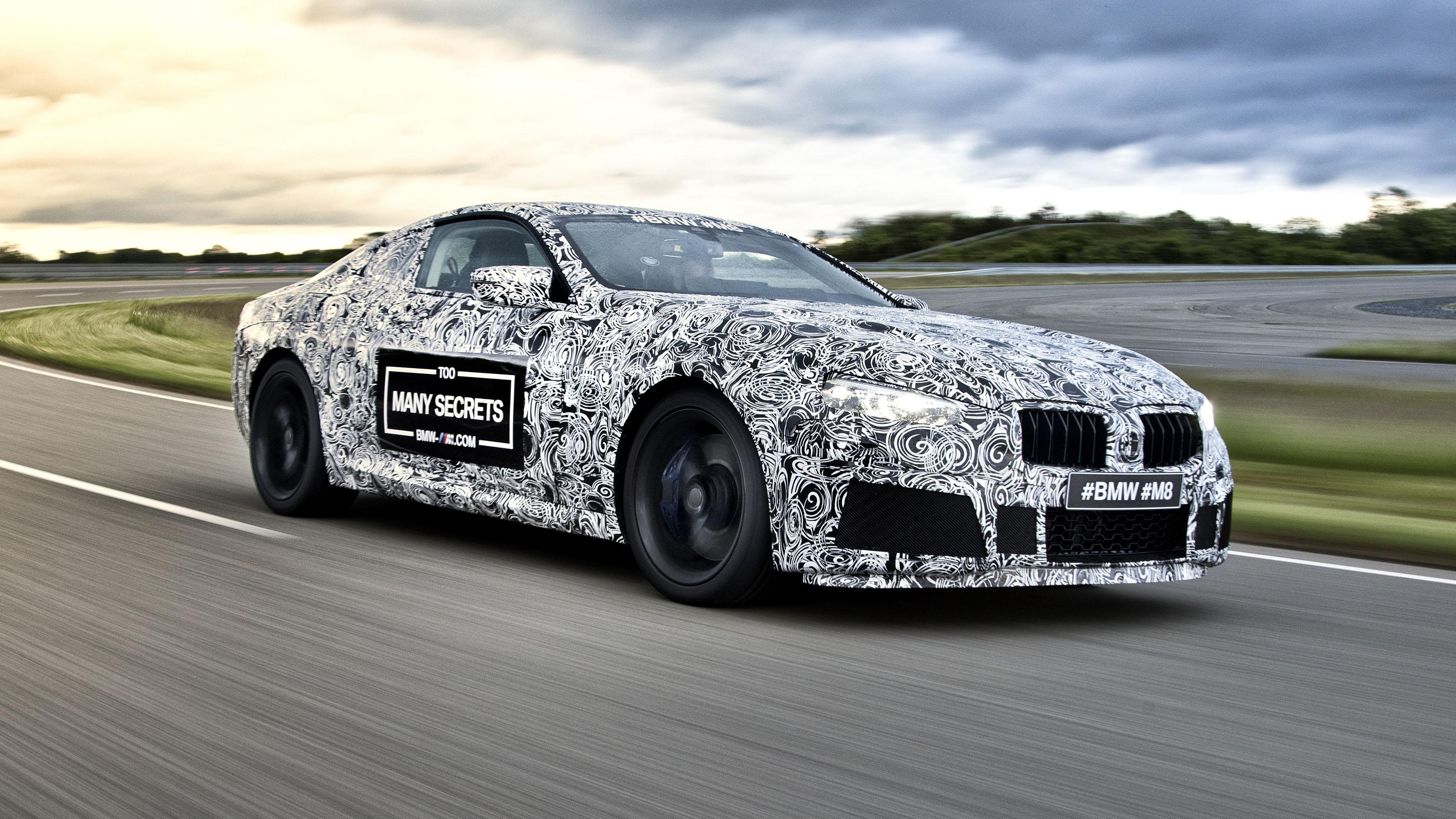BMW M8 concept front quarter