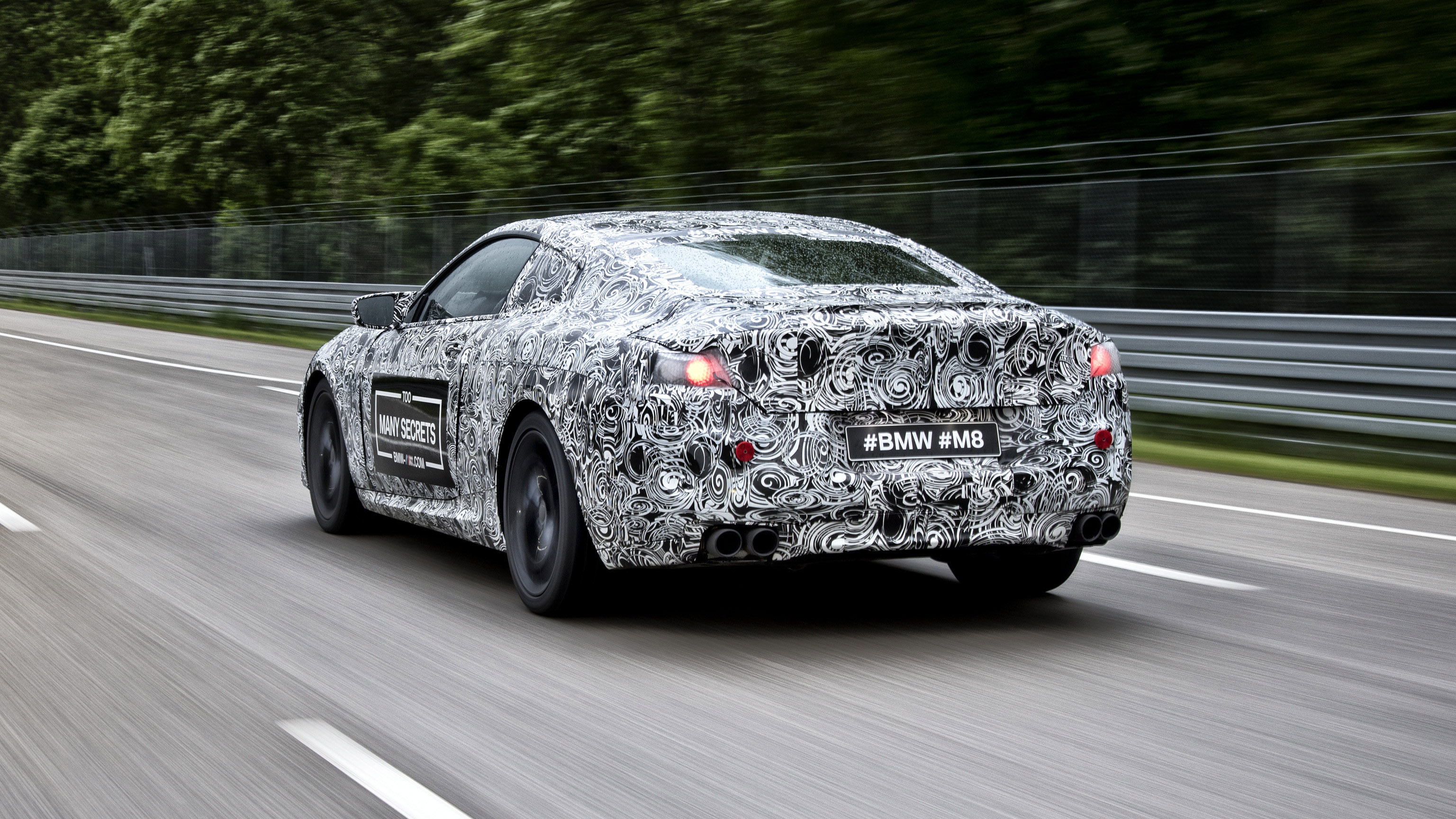 BMW M8 concept rear