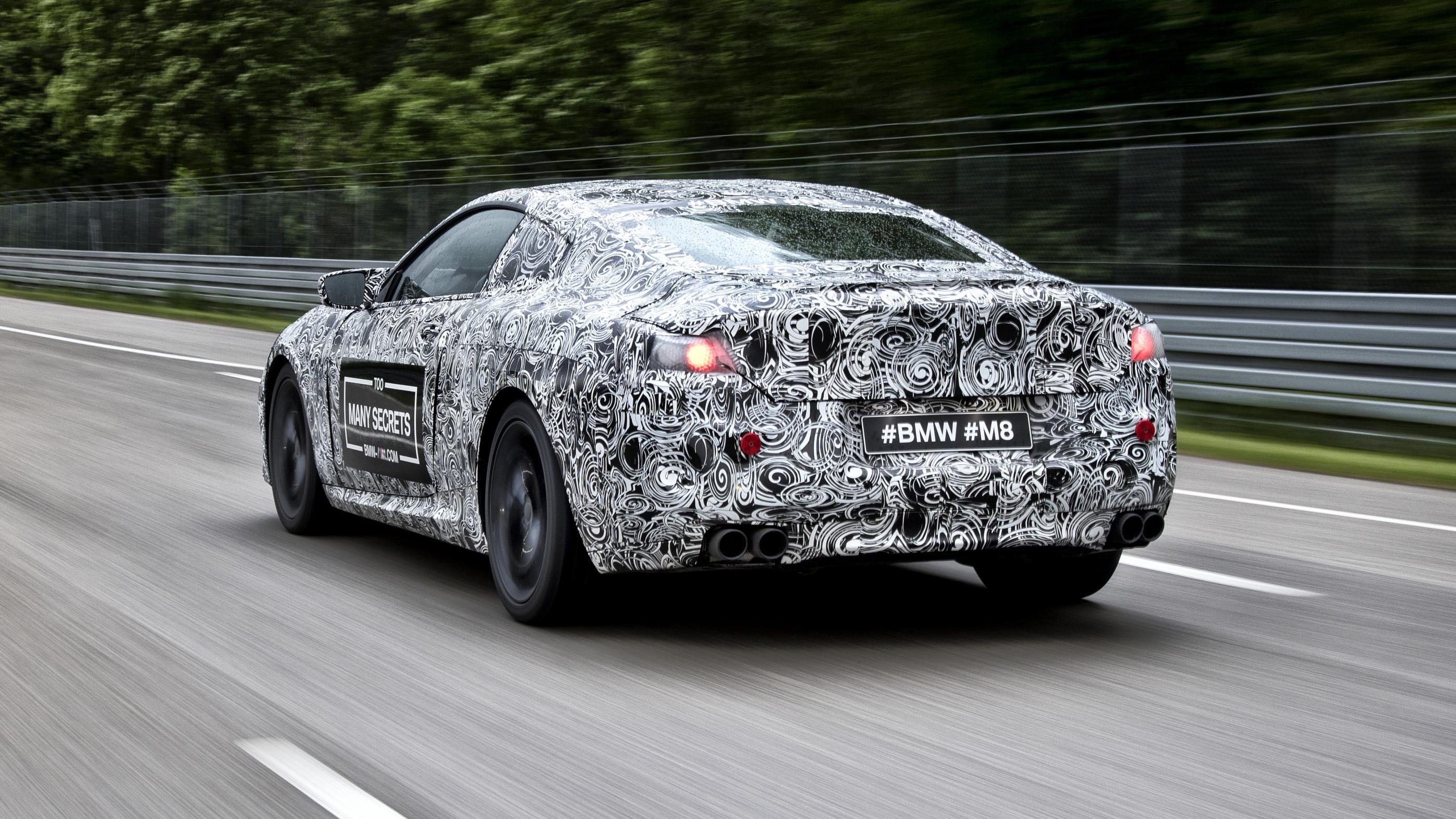BMW M8 M Festival rear