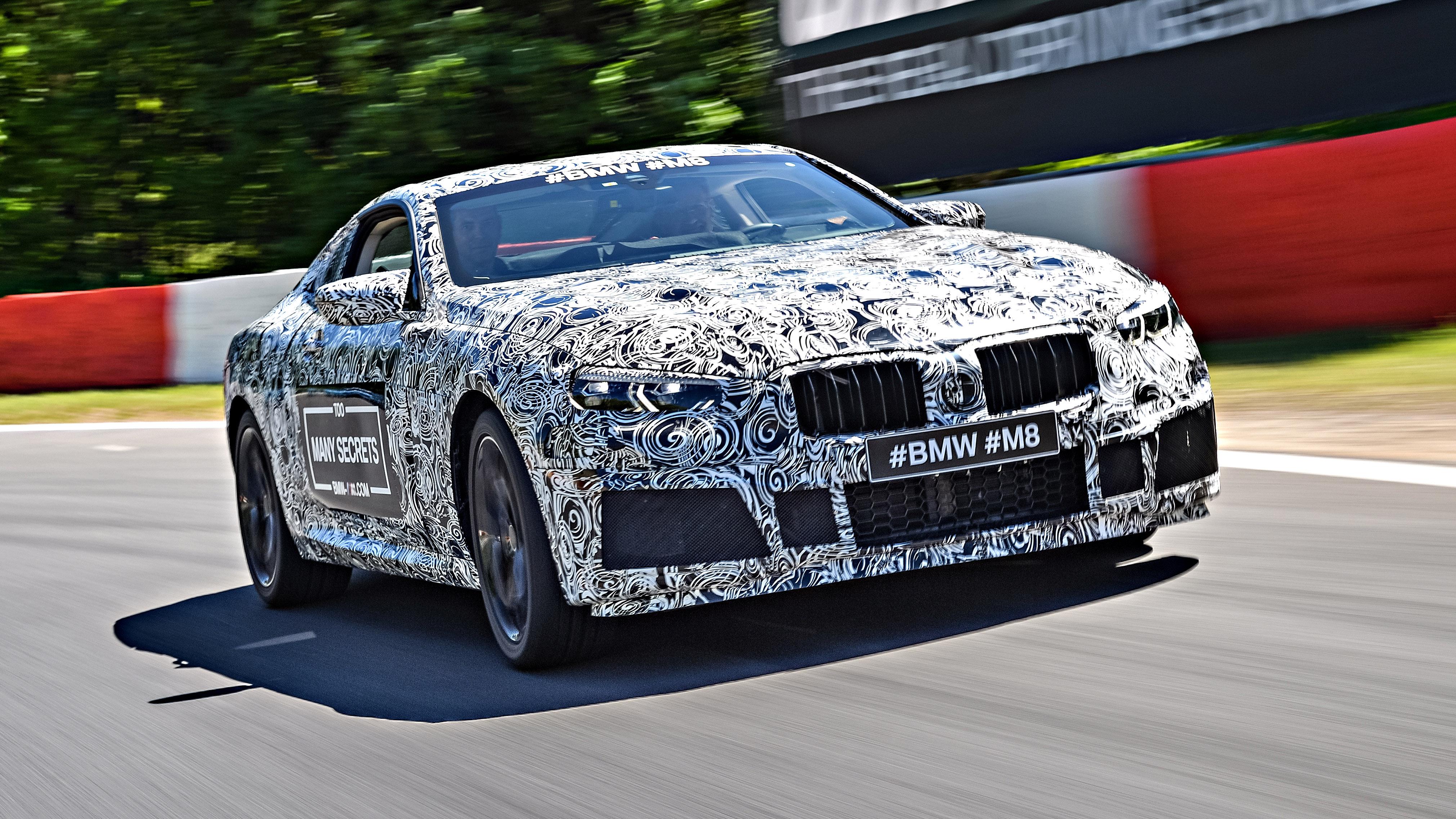 BMW M8 M Festival front