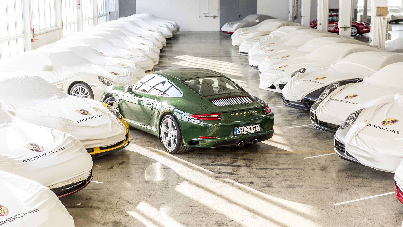 Porsche 911 one millionth