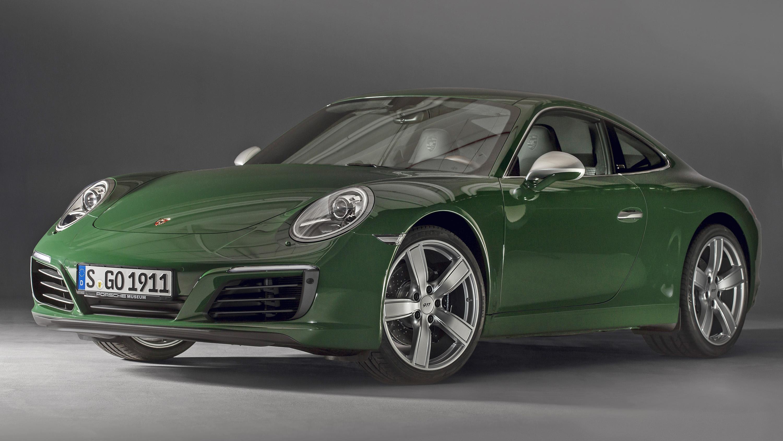 Porsche 911 one millionth rear