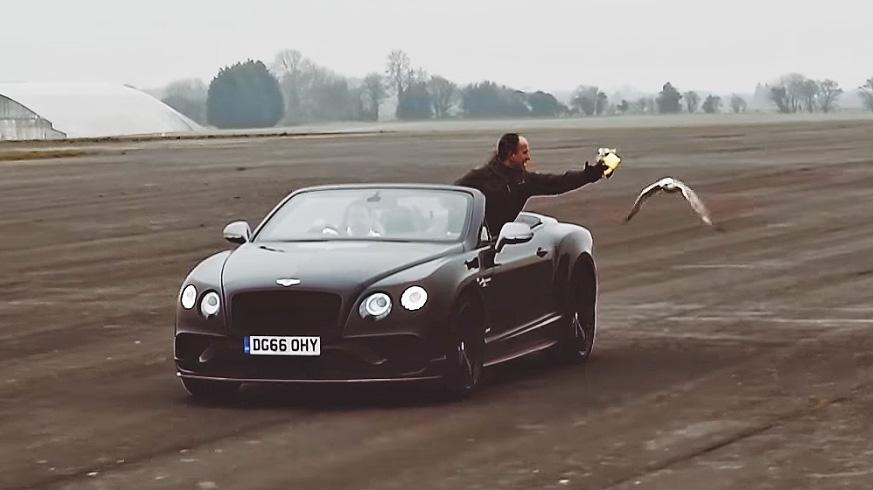 Bentley Continental GT vs Gyrfalcon
