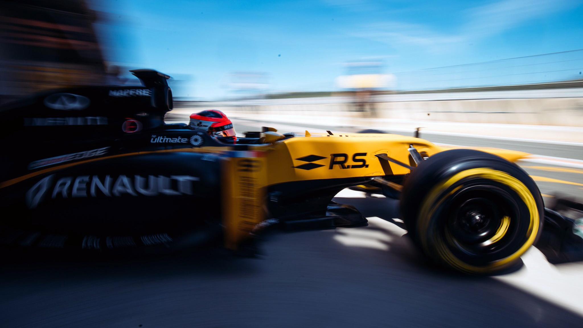 Robert Kubica Formula 1 side