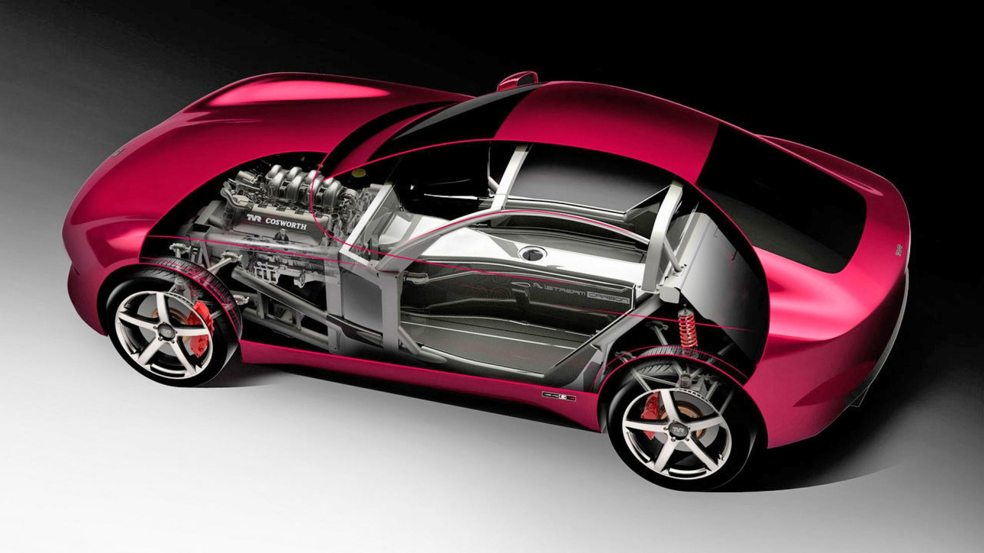 New TVR supercar concept