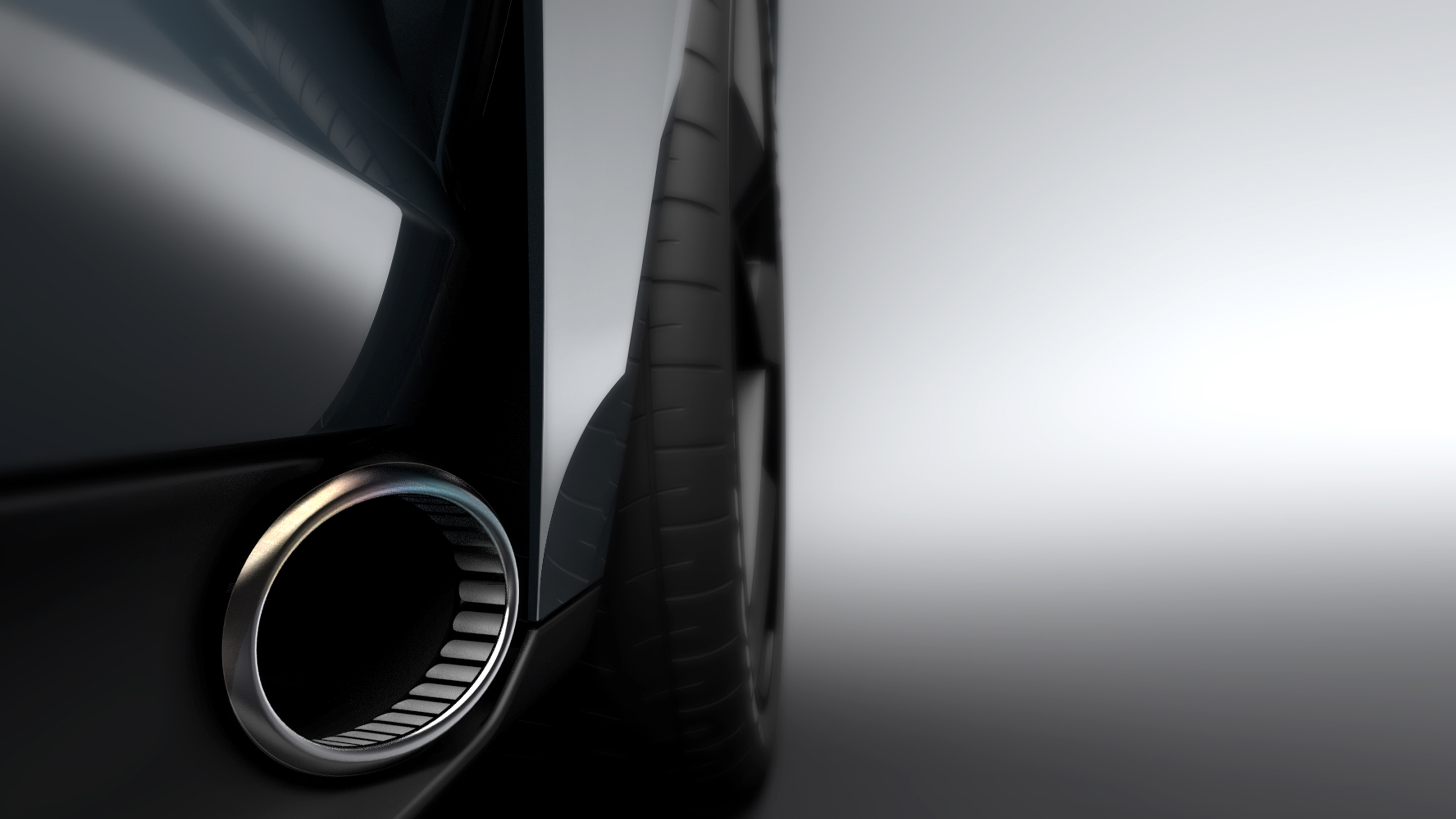 New TVR supercar concept exhausts