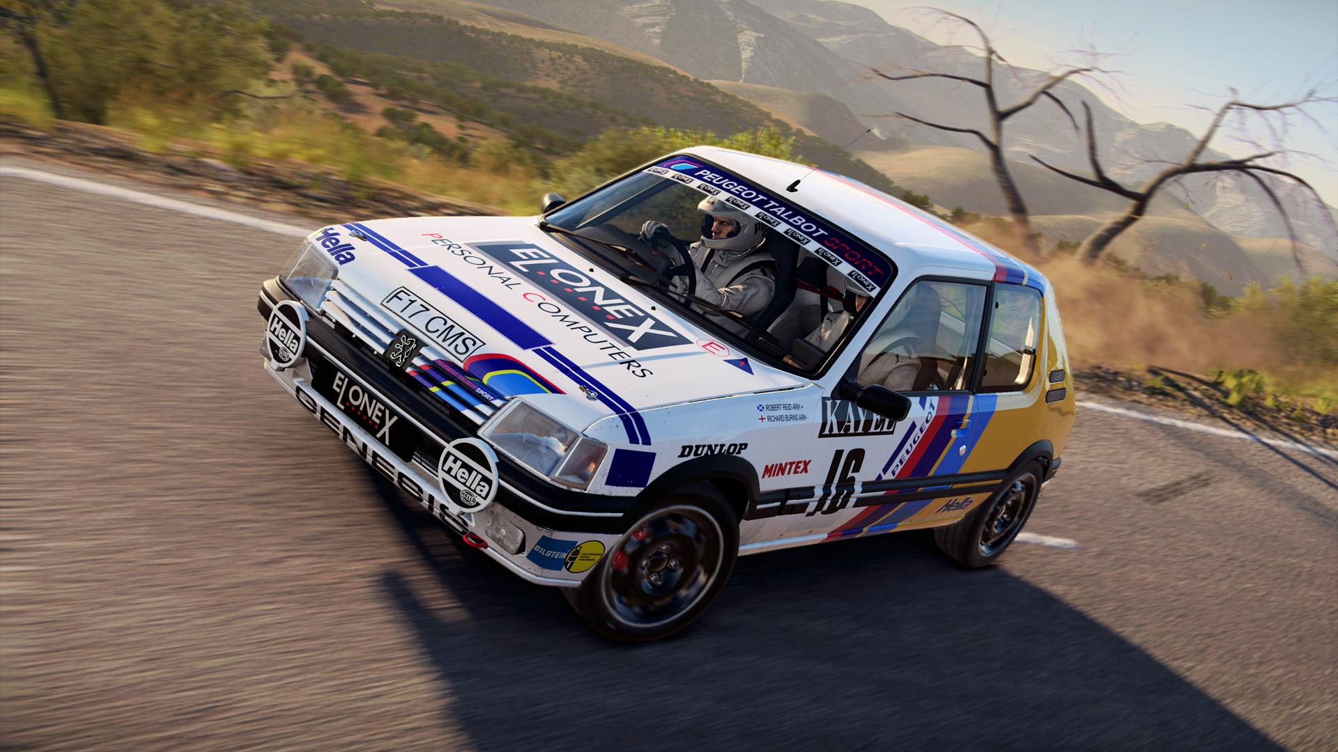 Peugeot 205 rally car Dirt 4