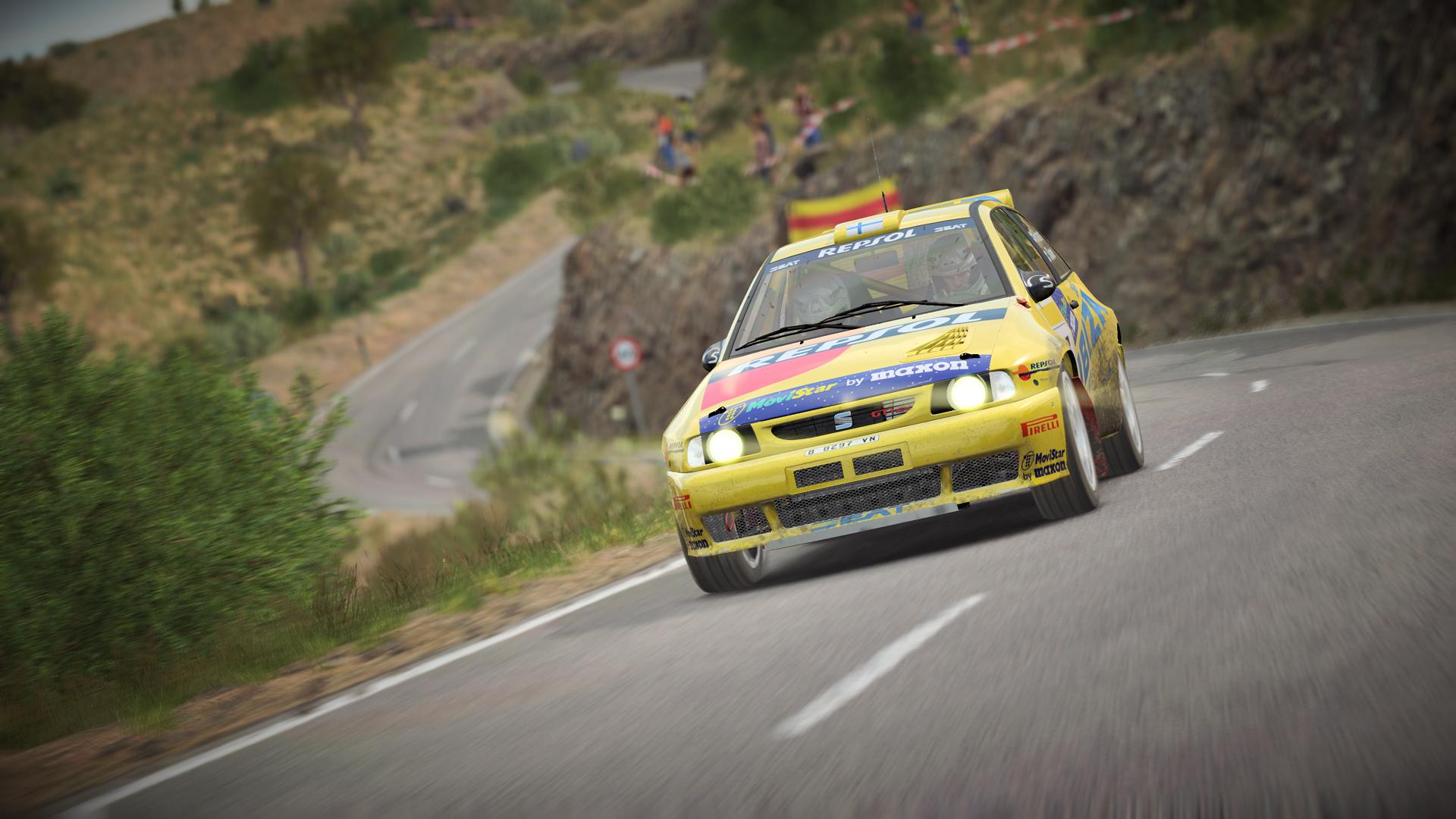 Seat rally car Dirt 4