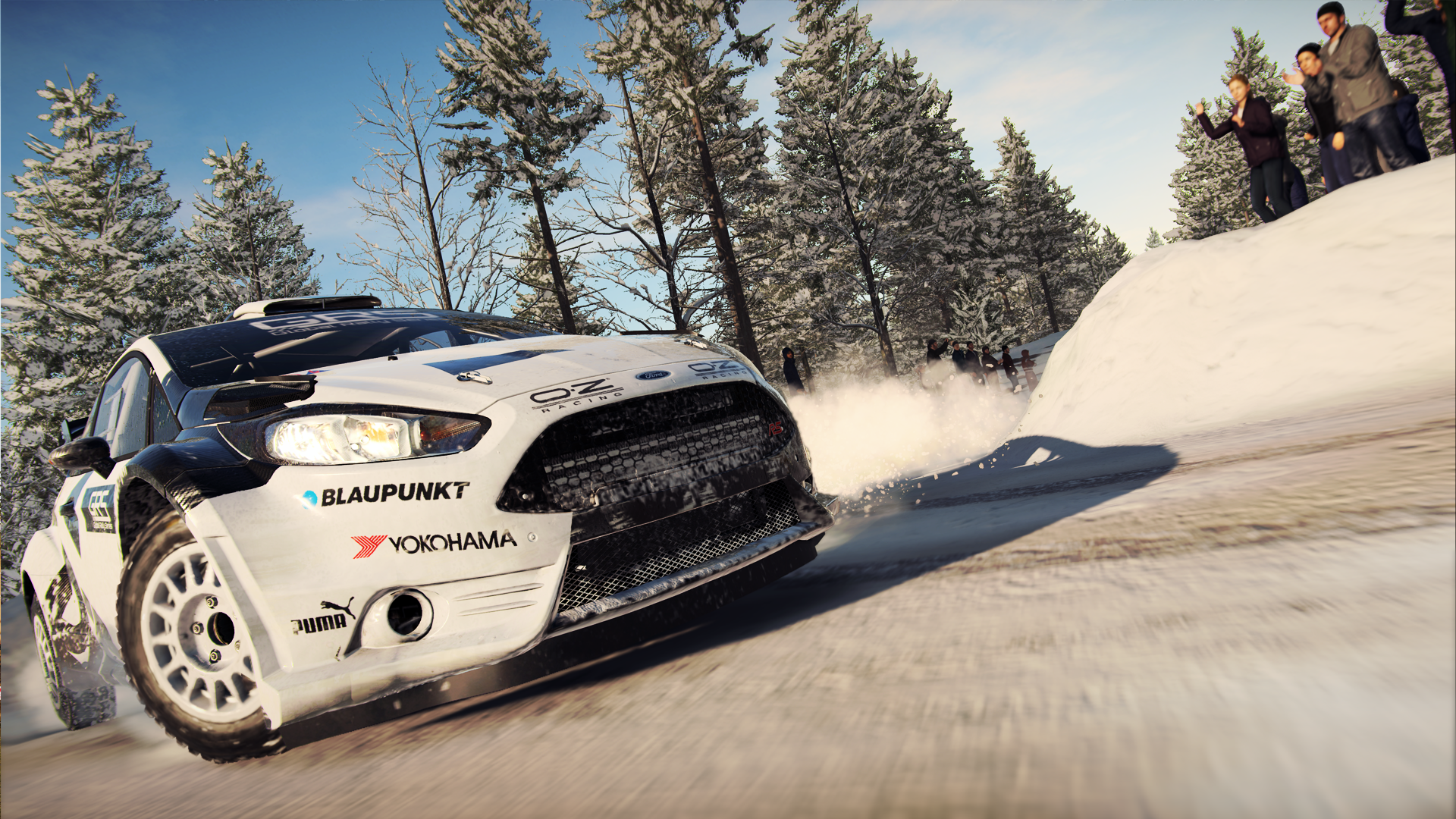 Ford Fiesta rally car Dirt 4