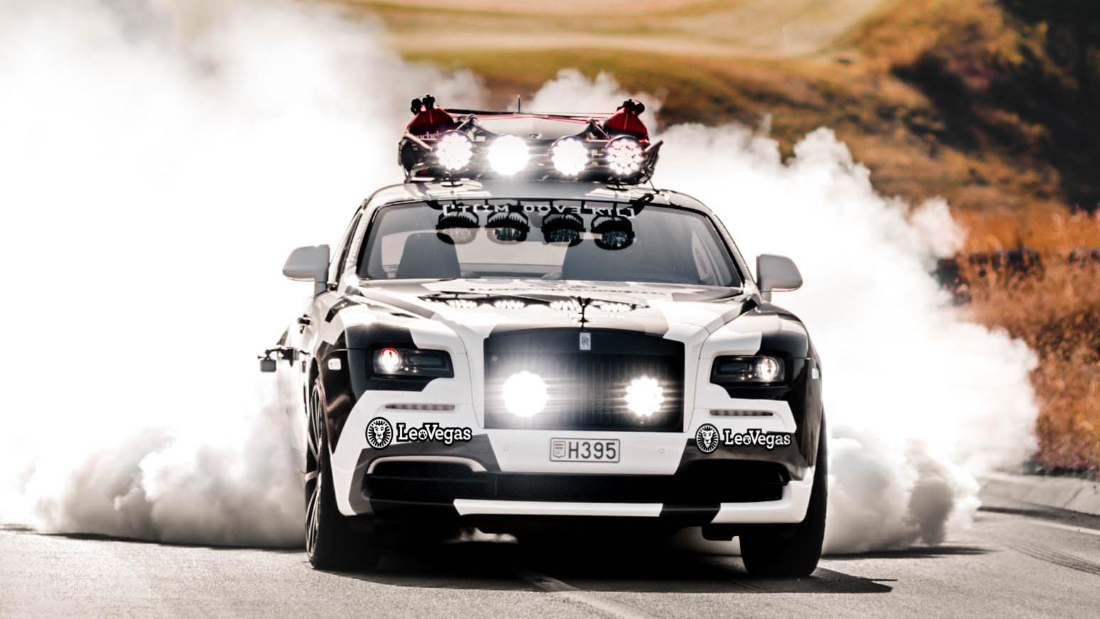 Rolls Royce Wraith custom build front