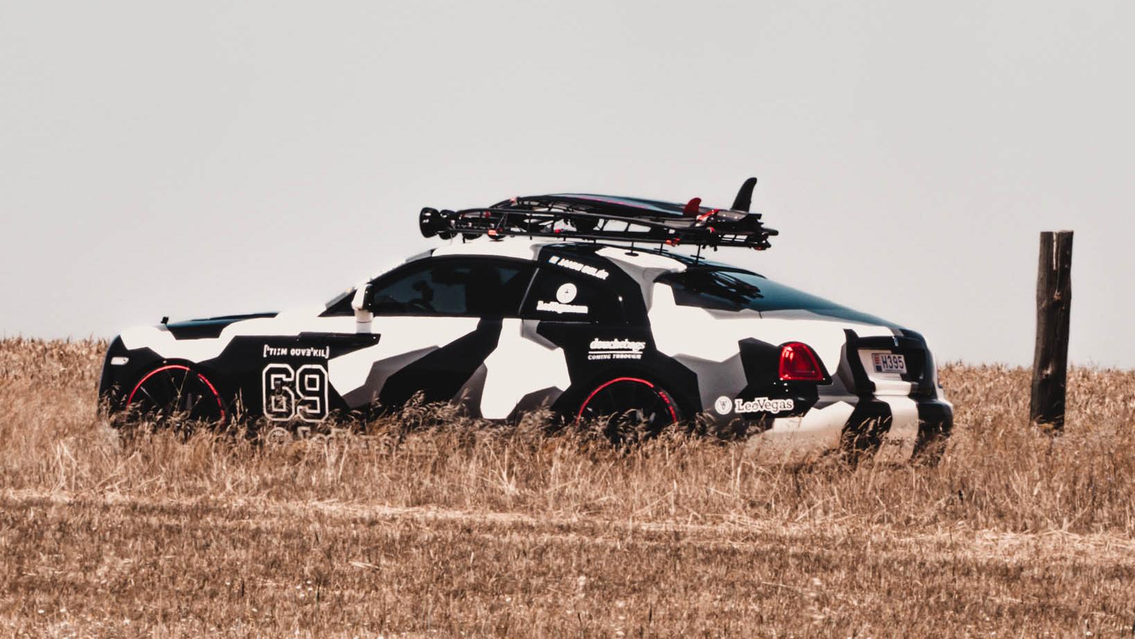 Rolls Royce Wraith custom build side