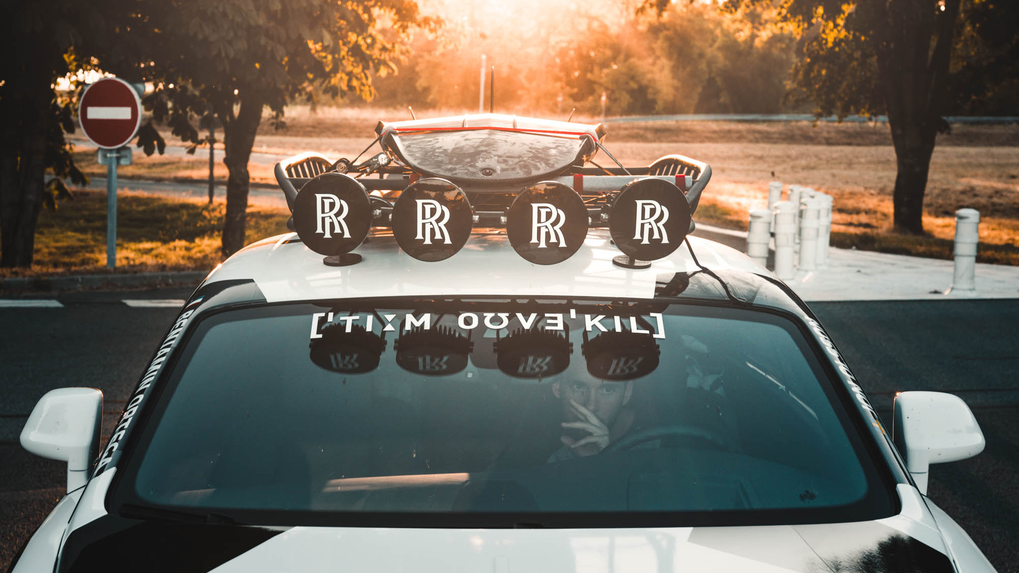 Rolls Royce Wraith custom build roof rack