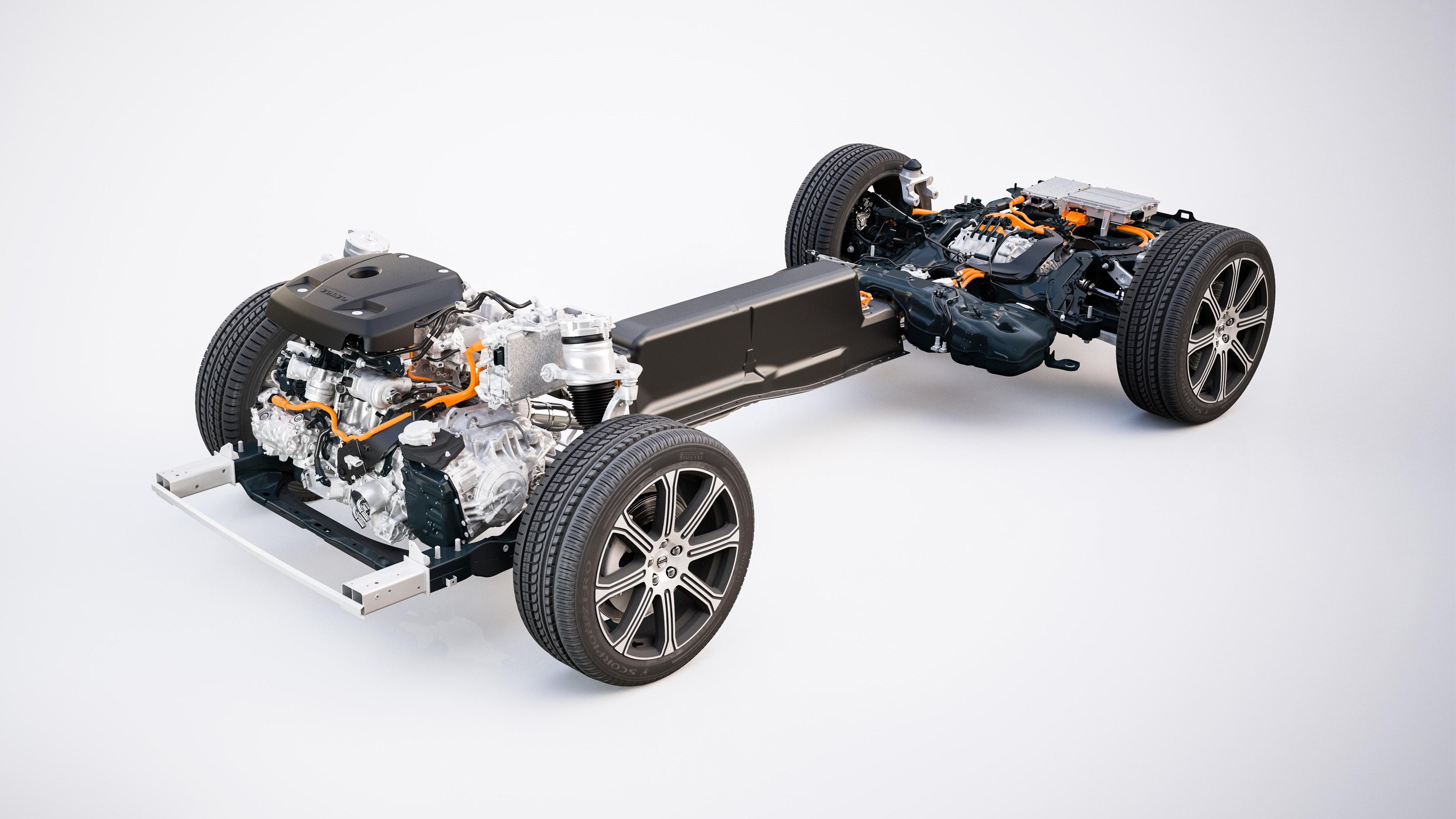 Volvo XC60 powertrain