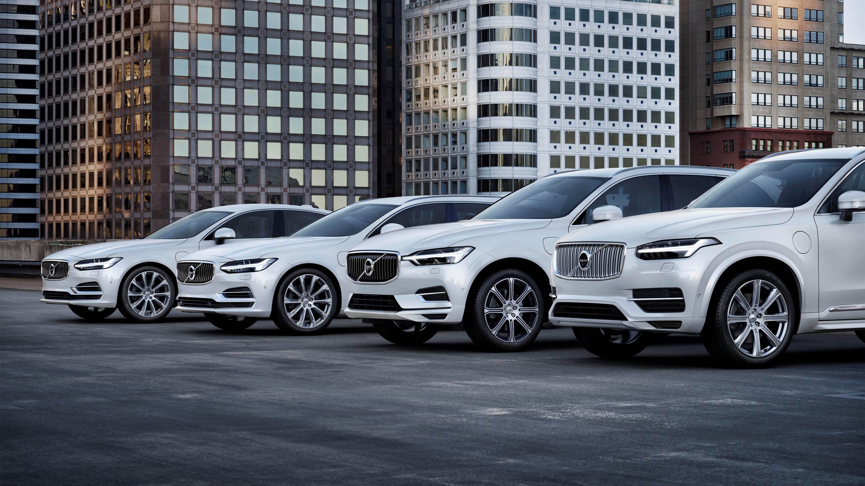 Volvo car range