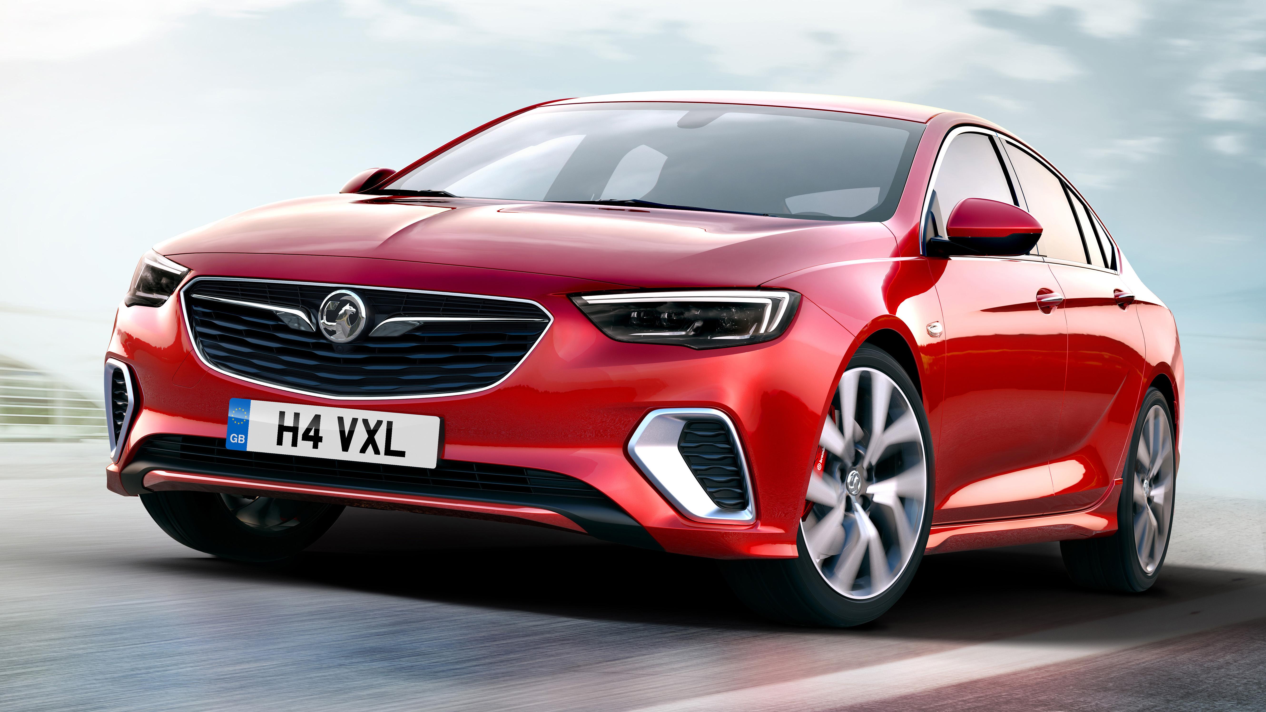 Vauxhall Insignia GSI front quarter