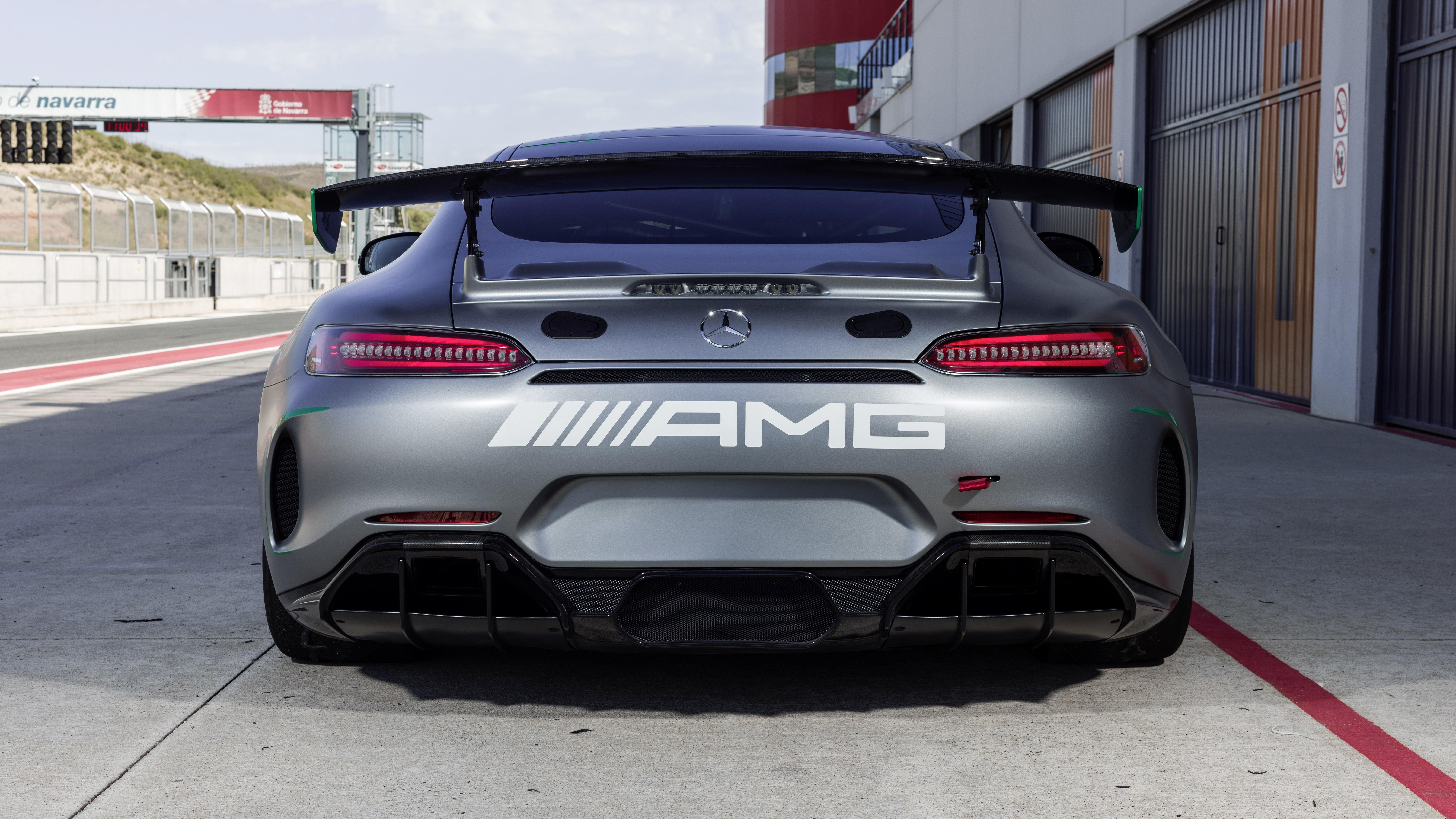 Mercedes-AMG GT4 rear