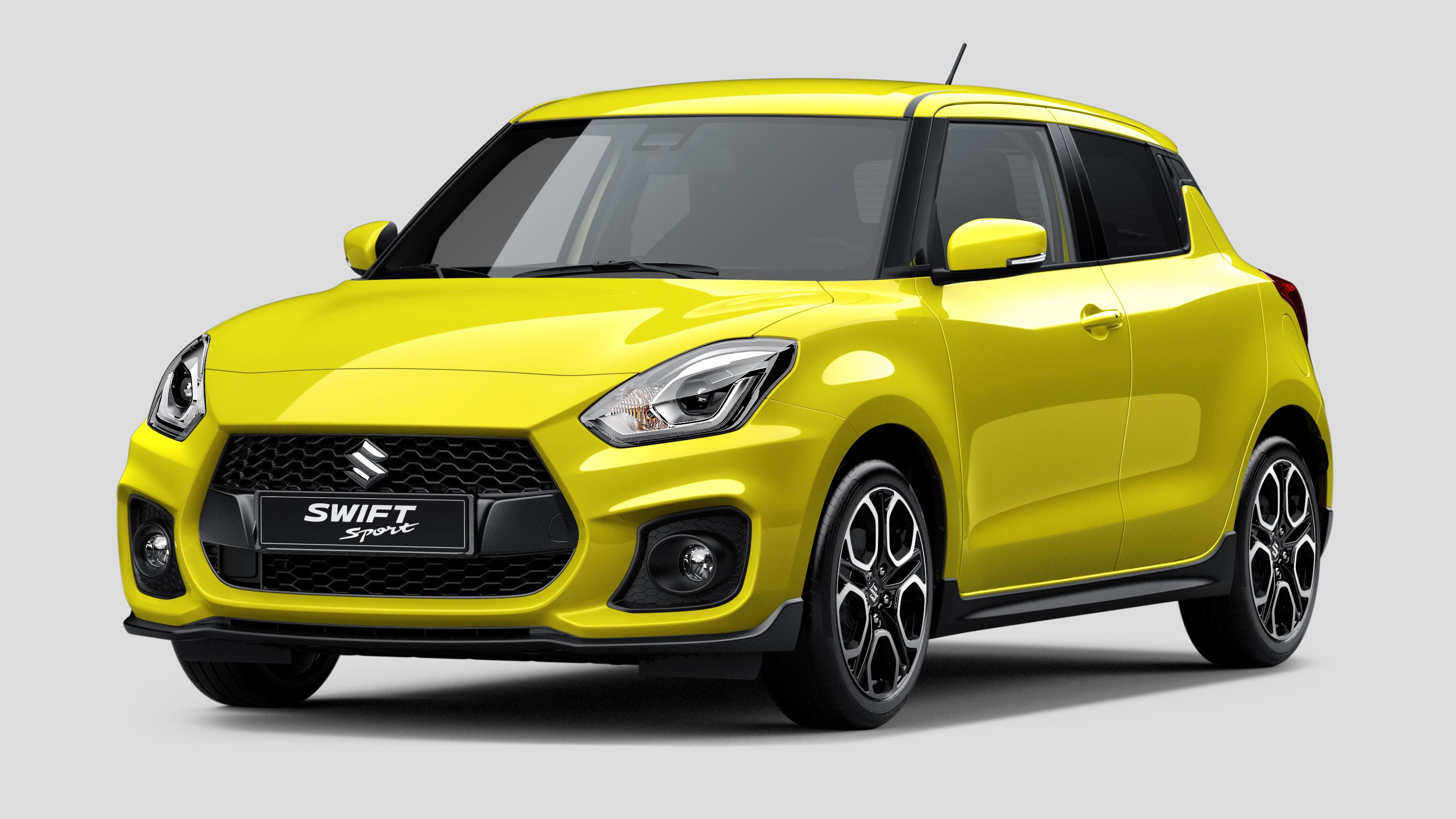 New Suzuki Swift front quarter