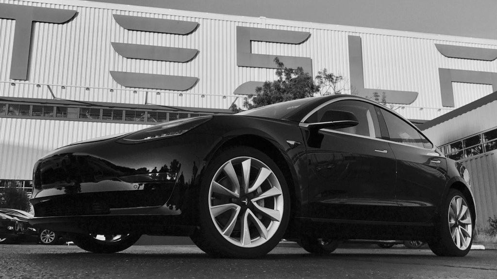 Tesla Model 3 front quarter