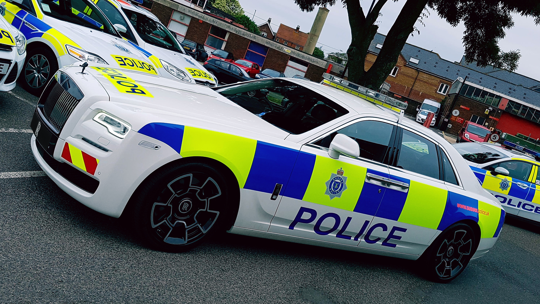Rolls-Royce Ghost police car side