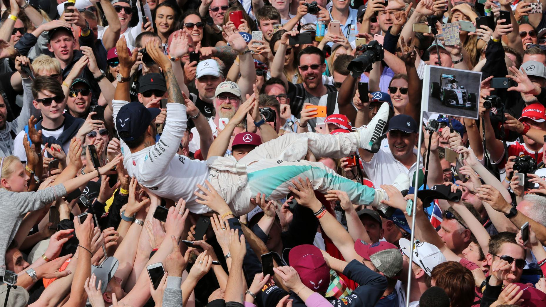 Hamilton Silverstone GP