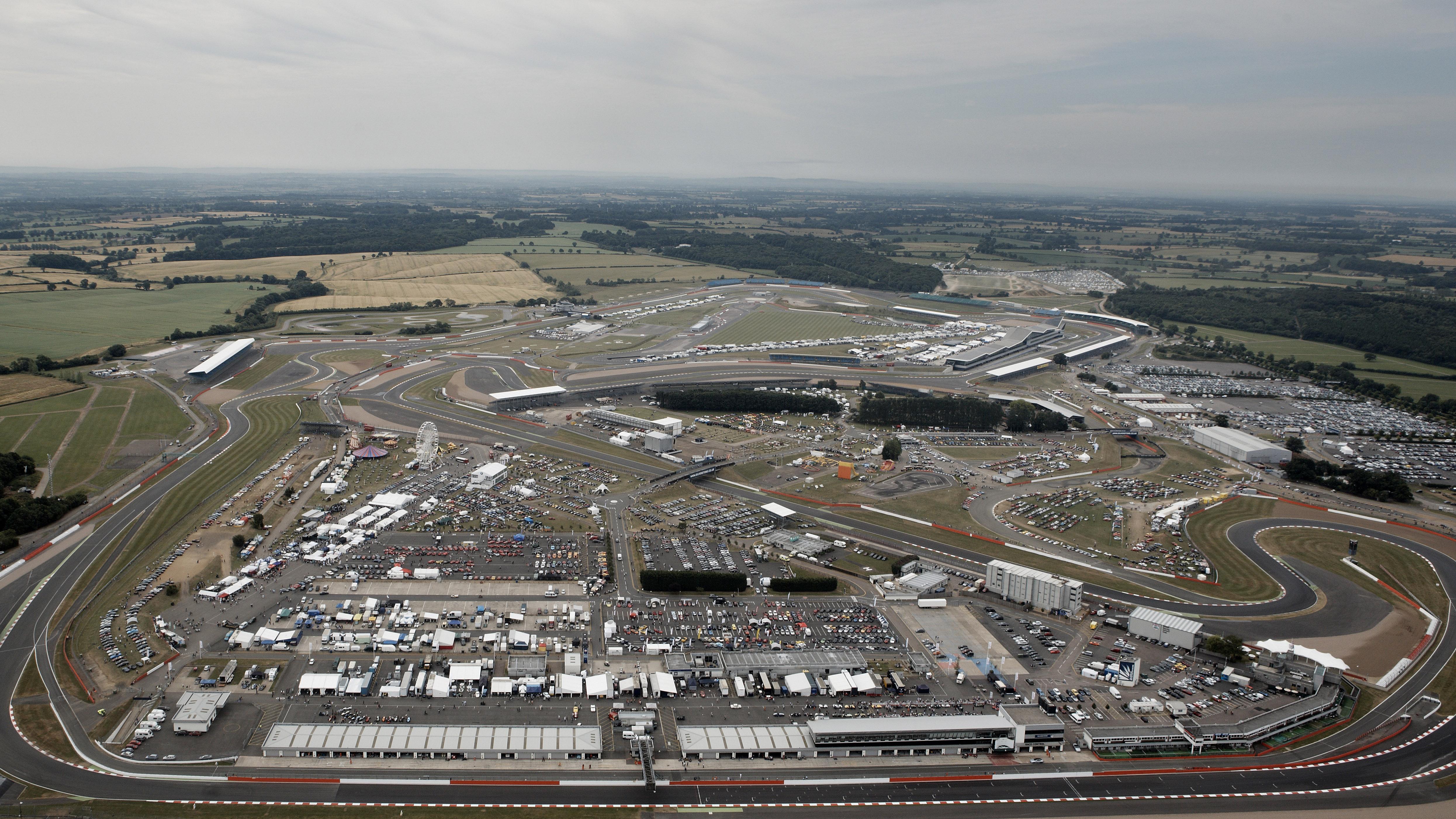 Silverstone GP over head