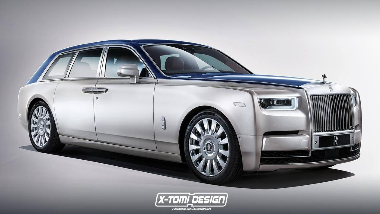 Rolls Royce Phantom Coupe render