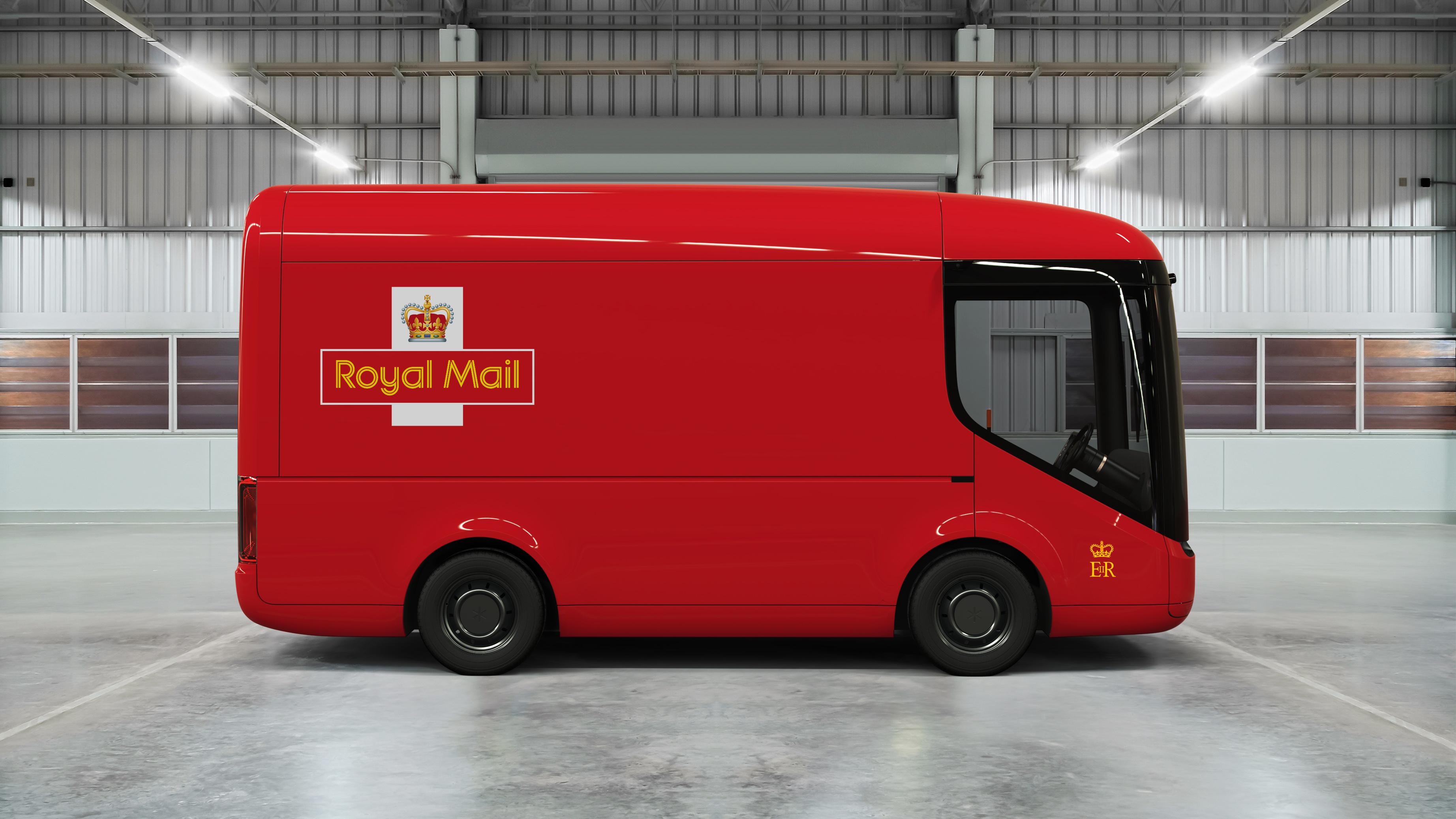 New Royal Mail electric van