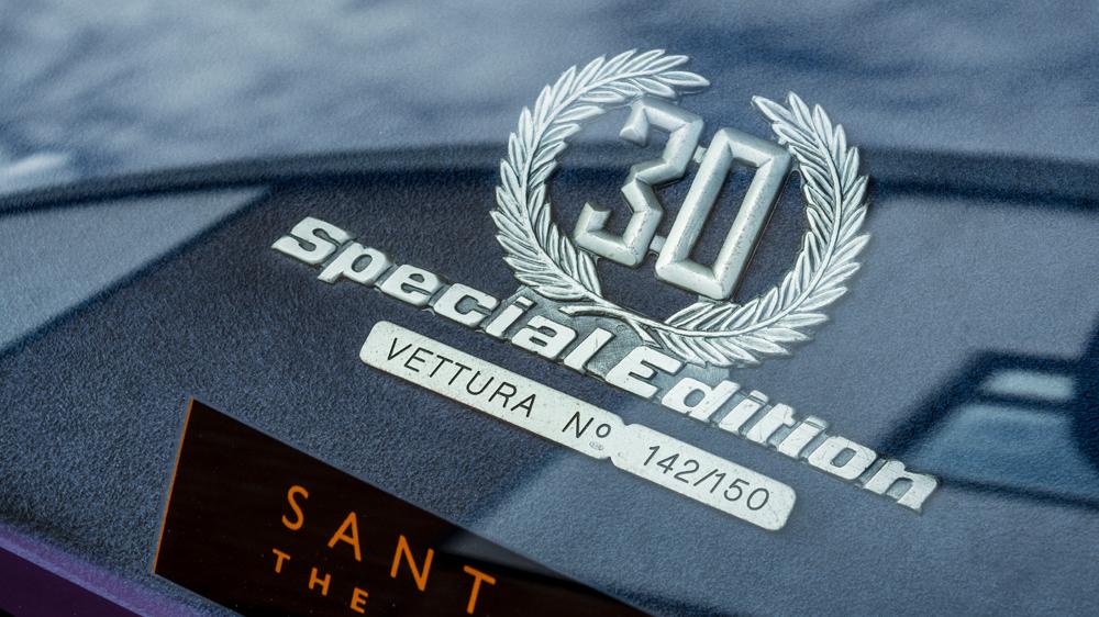 Lamborghini Diablo SE30 special edition badge