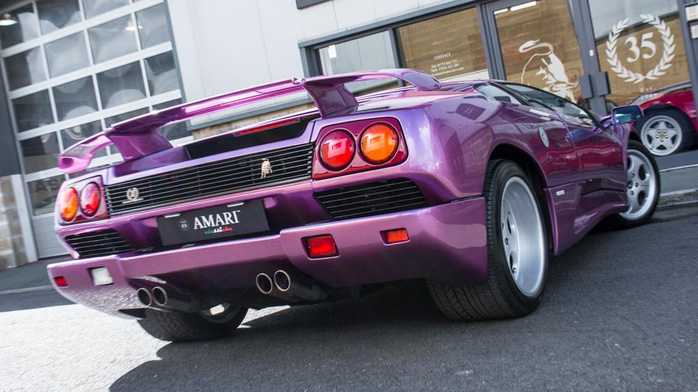 Lamborghini Diablo SE30 rear