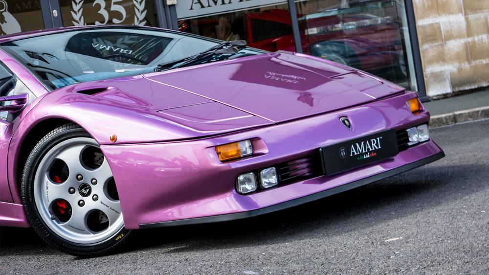 Lamborghini Diablo SE30 front