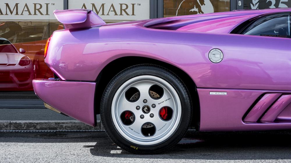 Lamborghini Diablo SE30 side