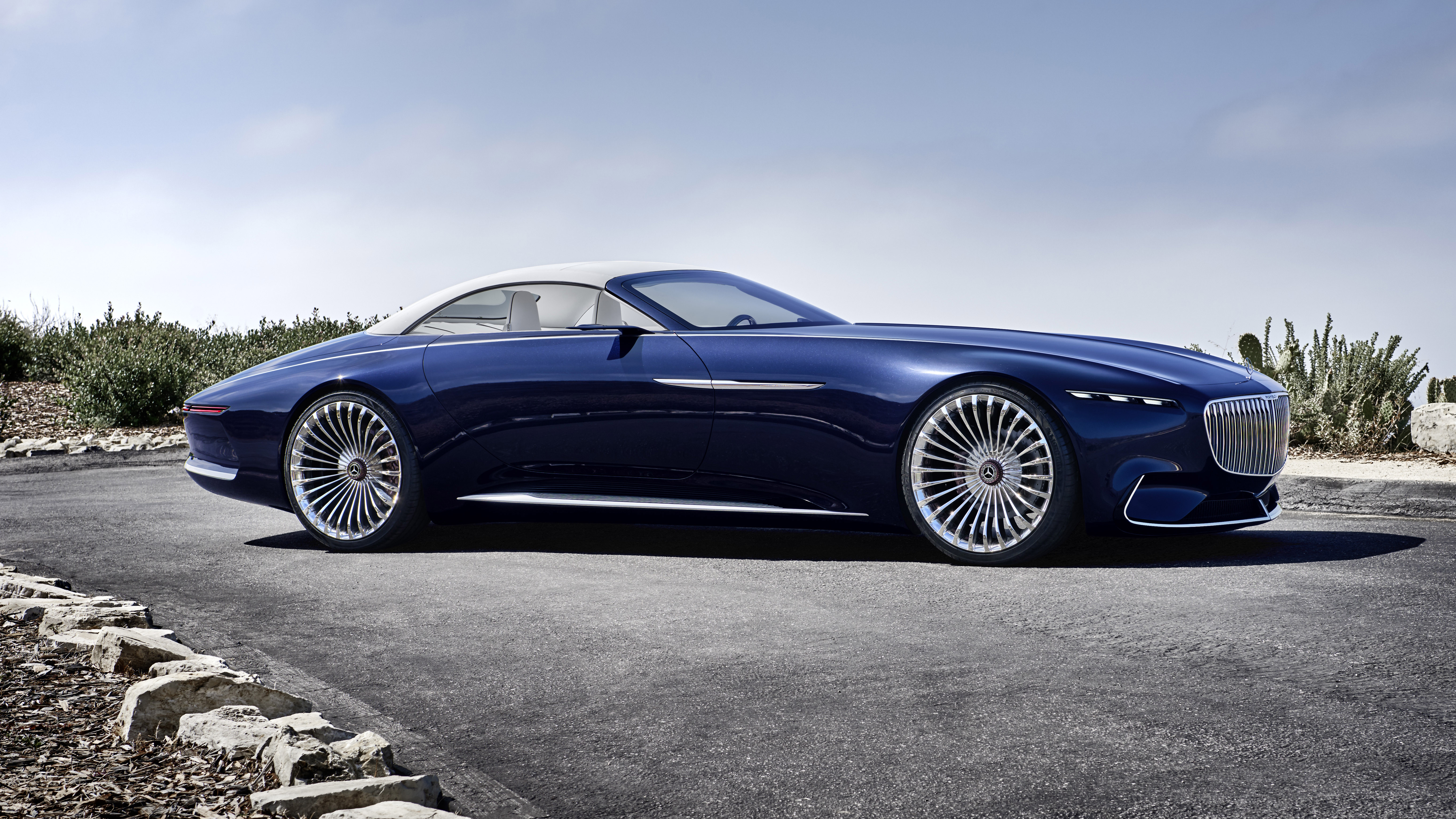 This is the Vision Mercedes-Maybach 6 Cabriolet   Top Gear