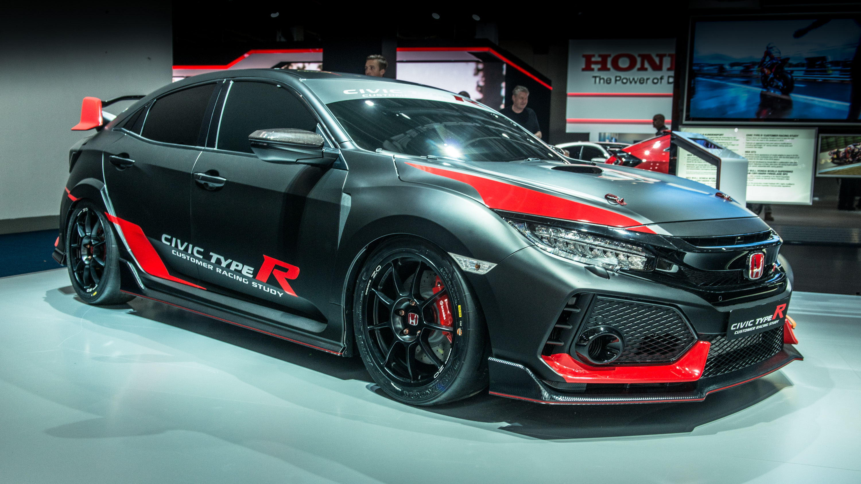 it 39 s a honda civic type r customer racing car top gear. Black Bedroom Furniture Sets. Home Design Ideas