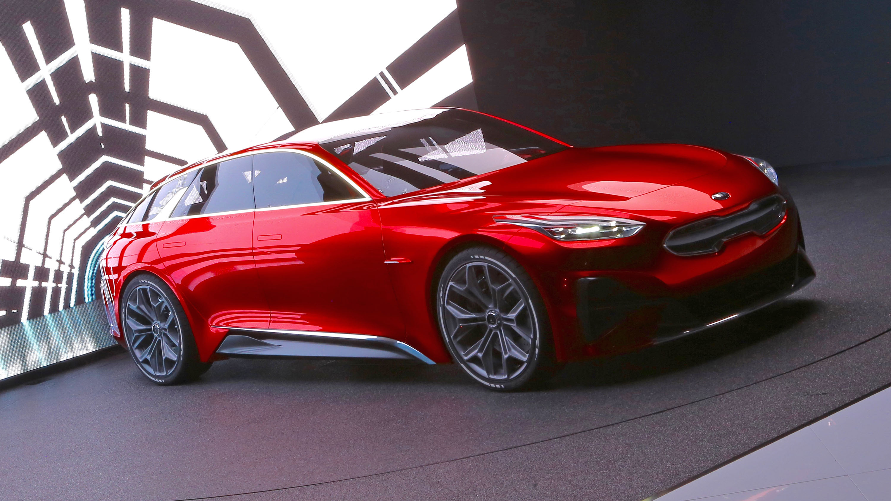 kia reveals stunning shooting brake concept top gear. Black Bedroom Furniture Sets. Home Design Ideas