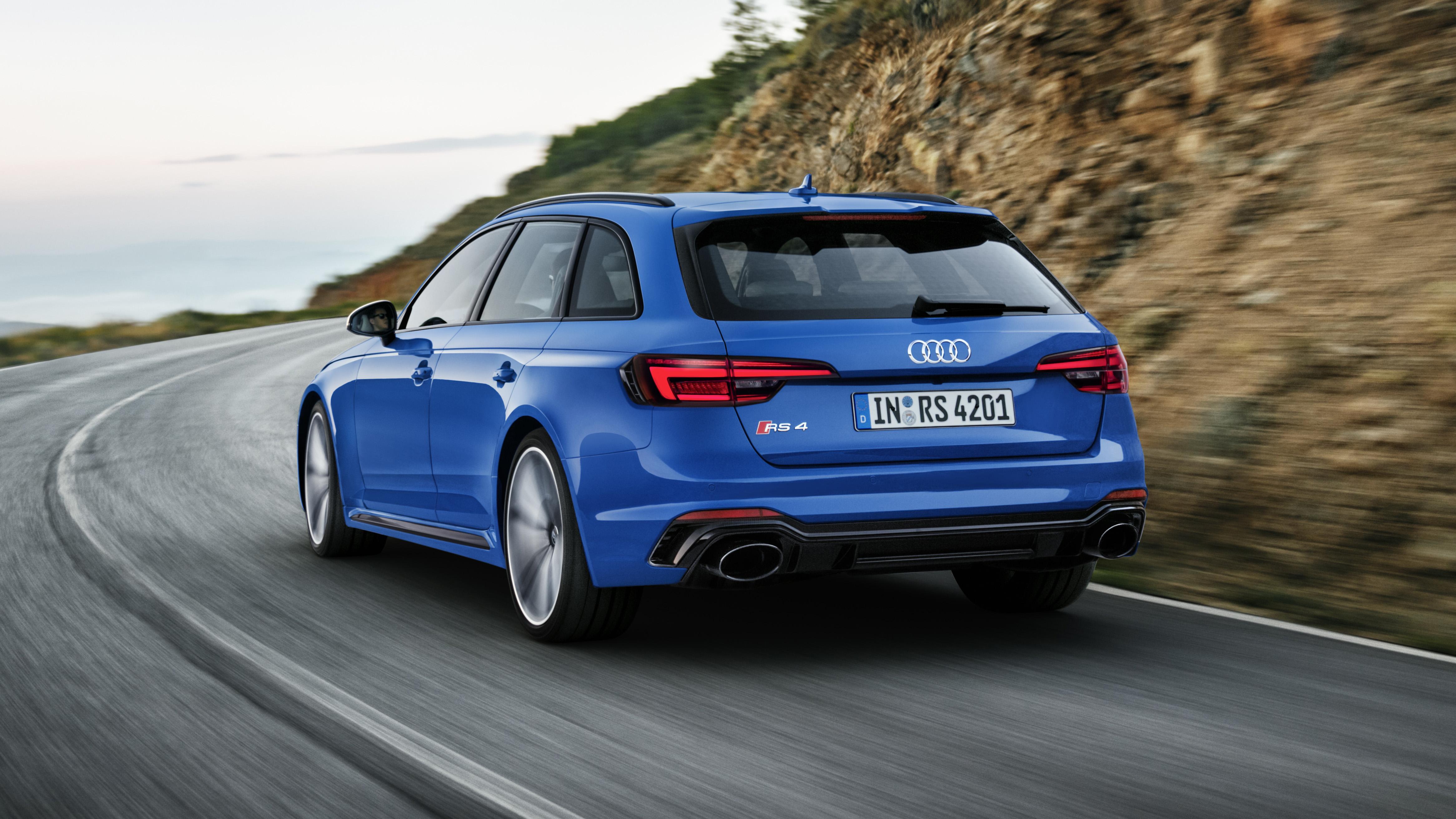 Audi RS4 rear quarter