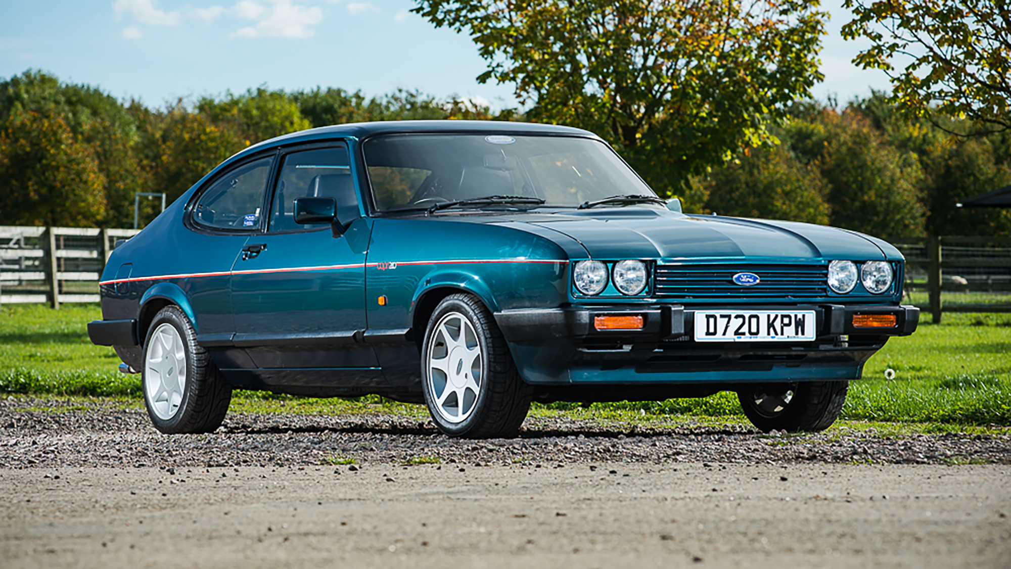 Classified of the week: 1987 Ford Capri Brooklands 280 ...