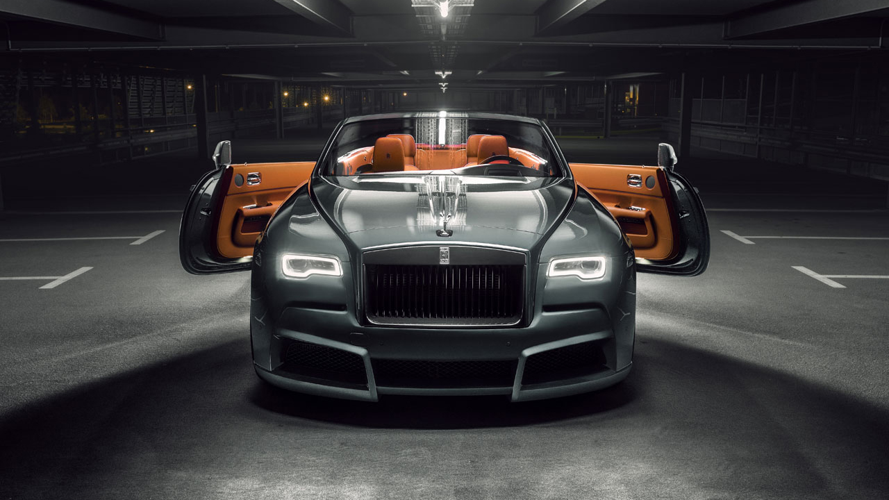 Look At This Wide Body Rolls Royce Dawn Top Gear