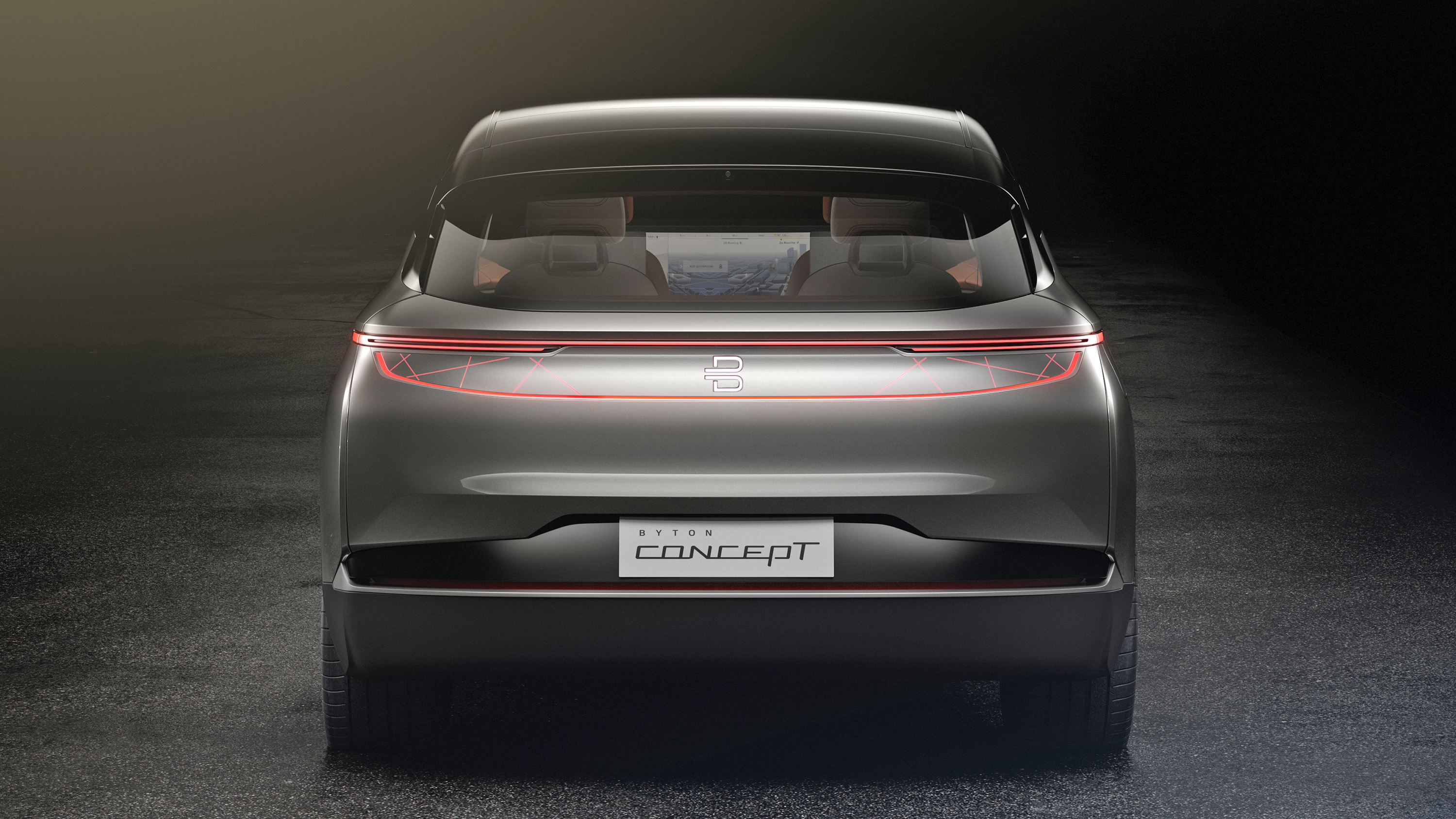 Byton Crossover Concept rear