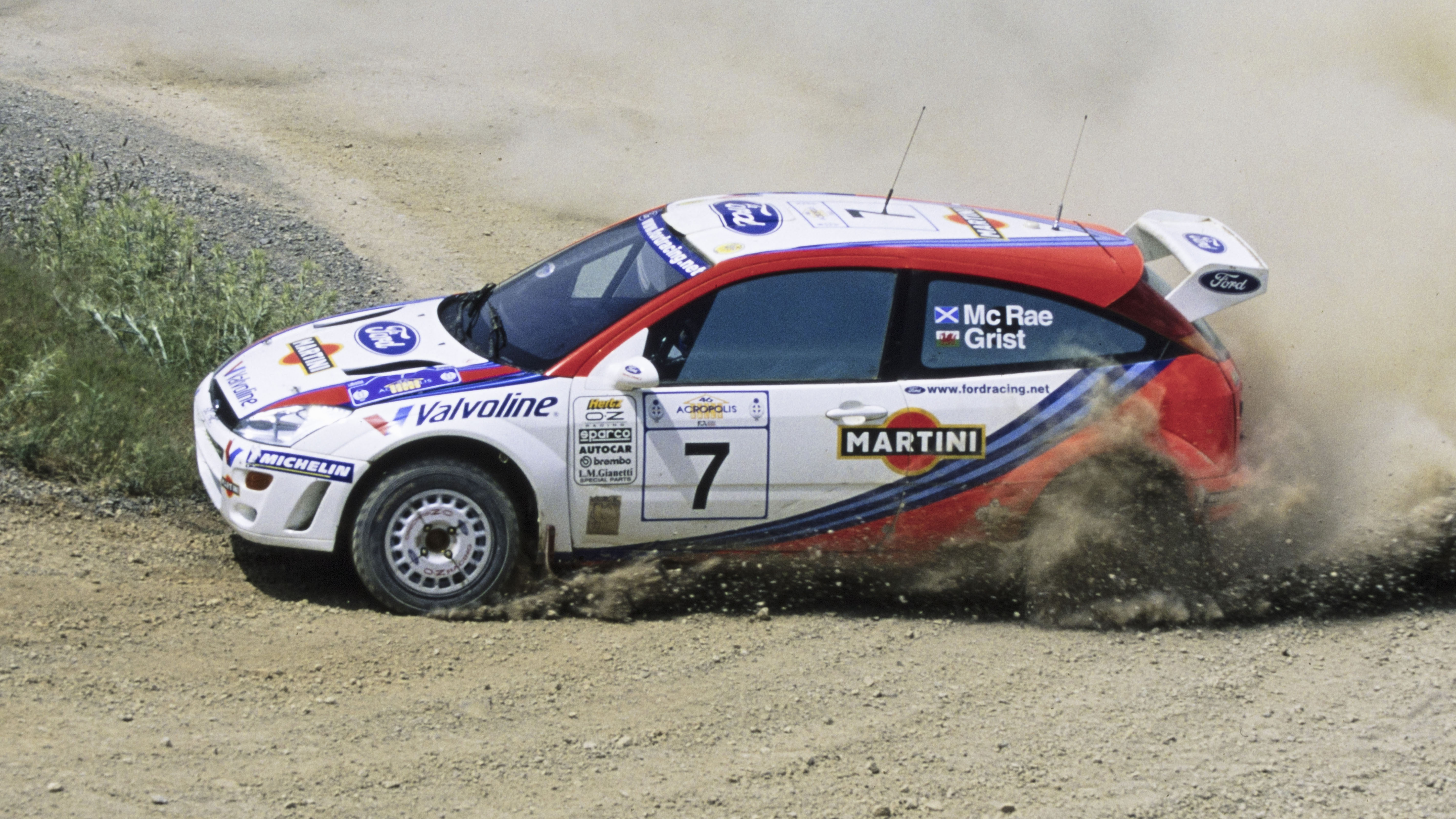 Buy this Ford Focus WRC raced by Colin McRae | Top Gear